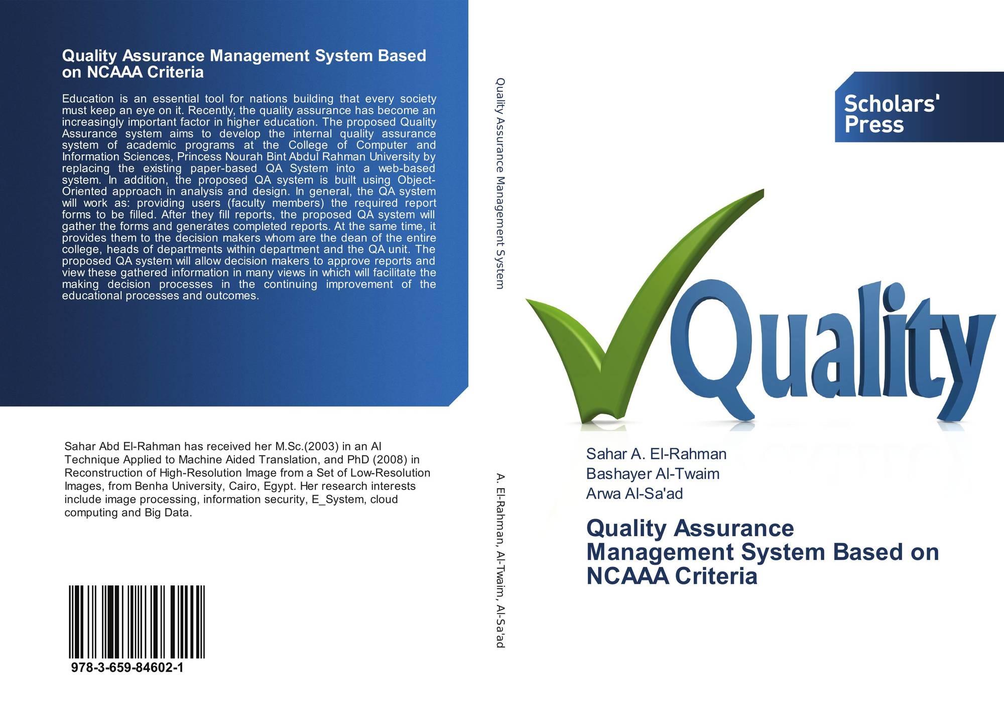 quality assurance management system pdf