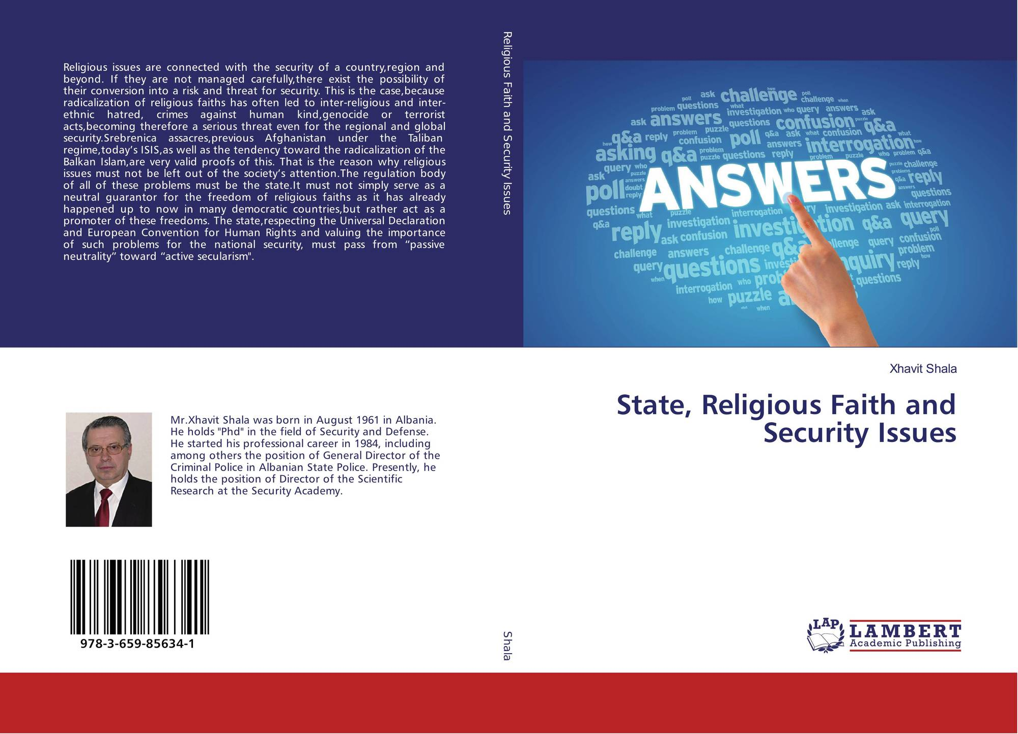 Creative And Academic Freedom Under Threat From Religious: State, Religious Faith And Security Issues, 978-3-659