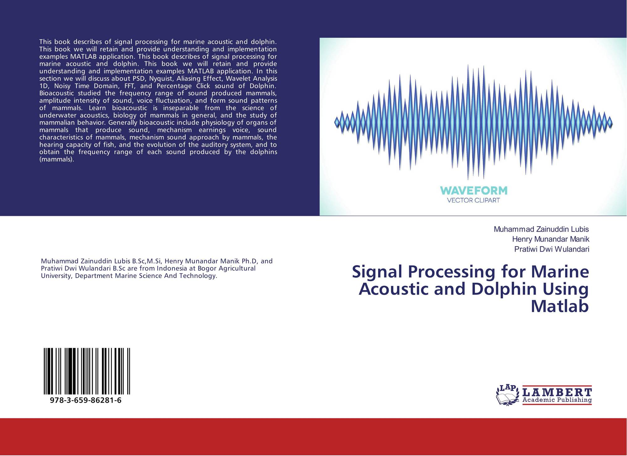 Signal Processing for Marine Acoustic and Dolphin Using