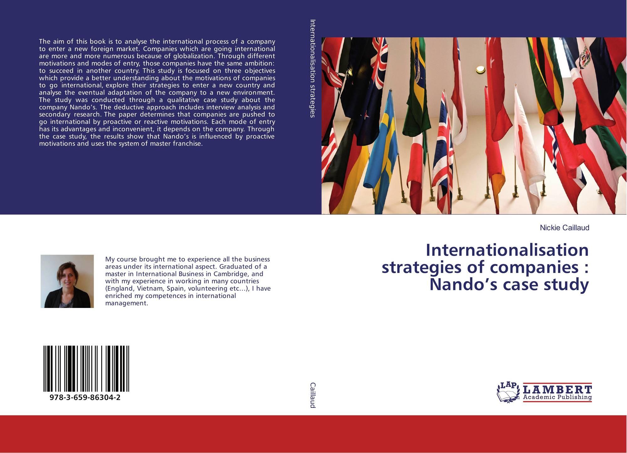 Bookcover of Internationalisation strategies of companies : Nando's case  study