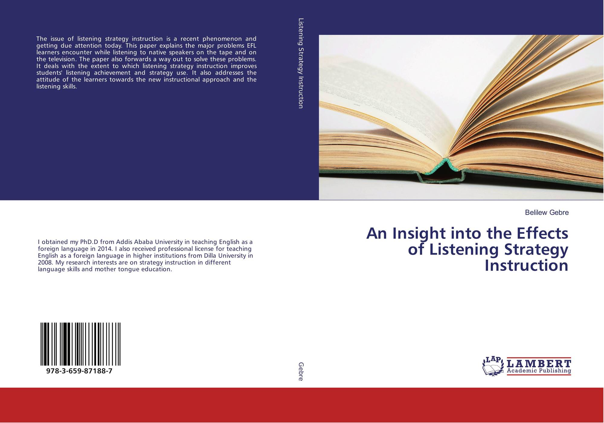 An Insight Into The Effects Of Listening Strategy Instruction 978 3