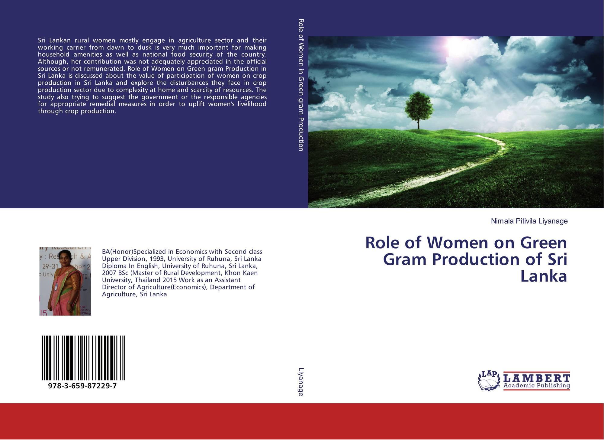 Role of Women on Green Gram Production of Sri Lanka, 978-3