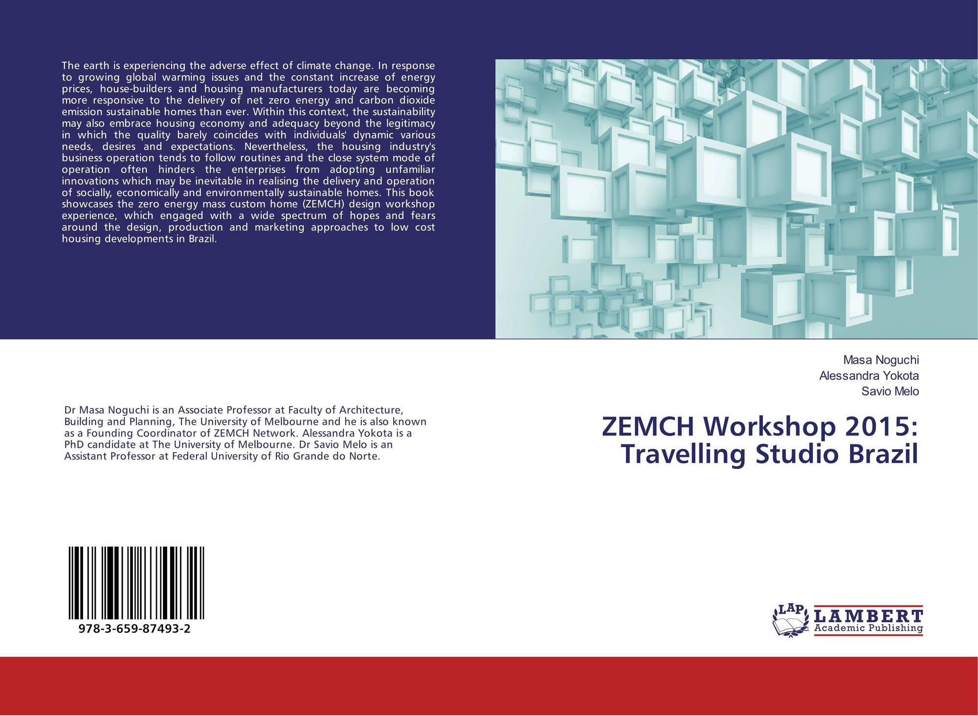 Category/education - Bookcover Of Zemch Workshop 2015 Travelling Studio Brazil