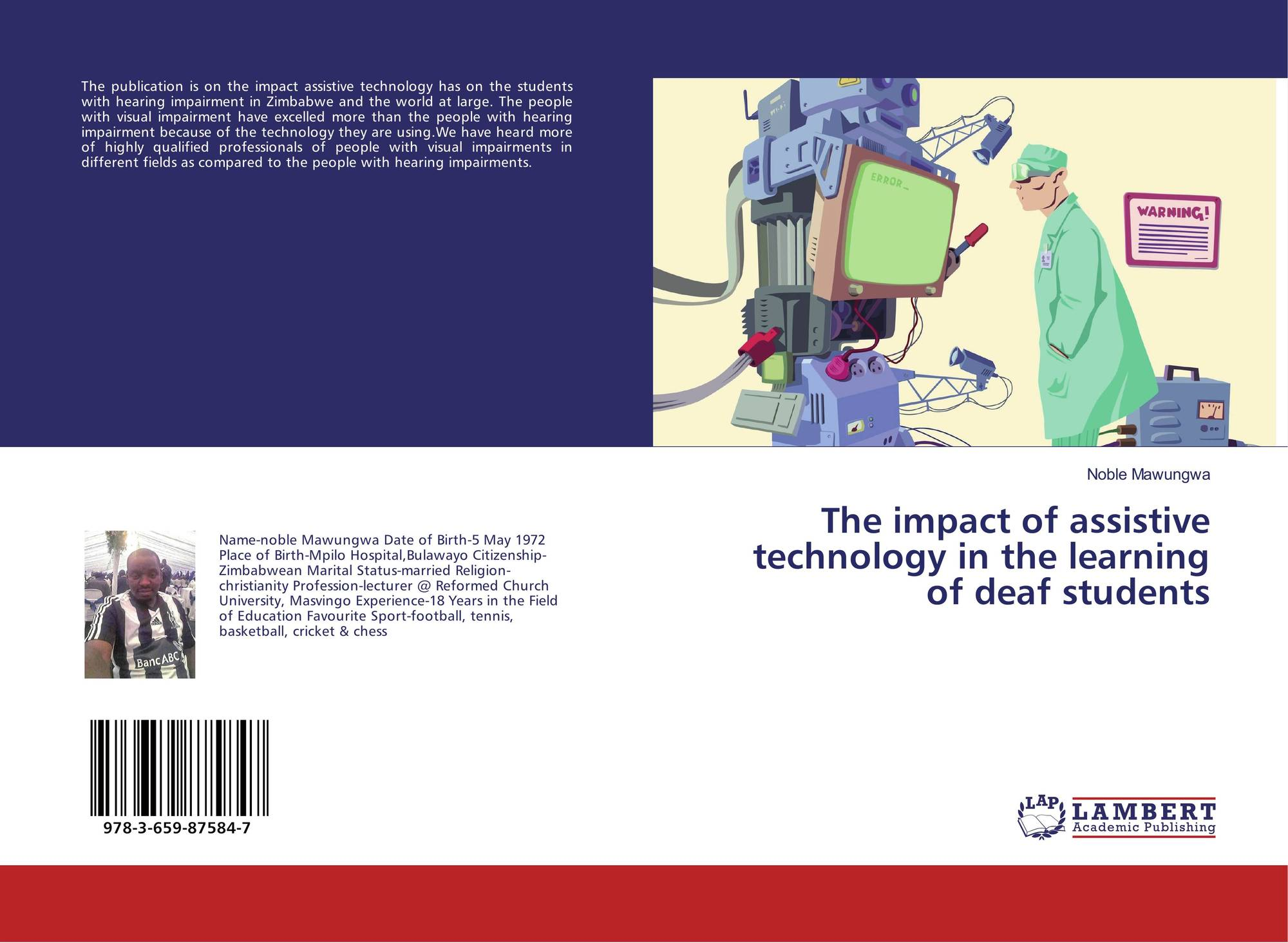 research paper on assistive technology Advancing the global priority research agenda establishing thematic research  collaborations in: effects, costs and economic impact of assistive technology.