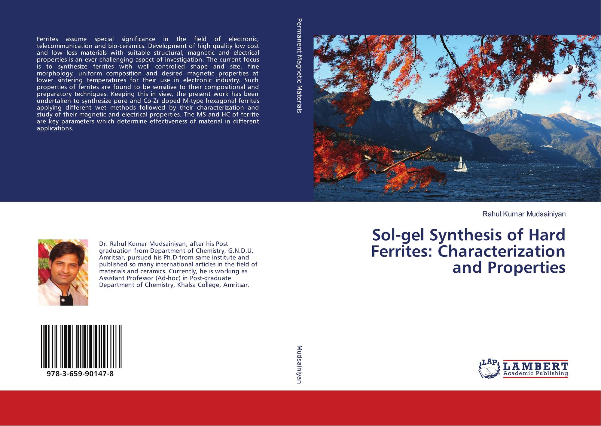 Sol Gel Synthesis Of Hard Ferrites Characterization And