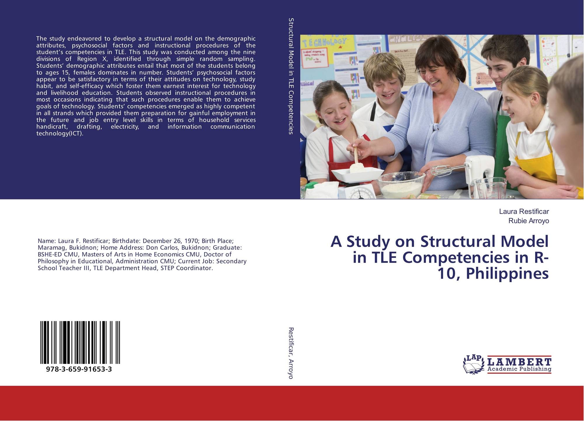Category/education - Bookcover Of A Study On Structural Model In Tle Competencies In R 10 Philippines