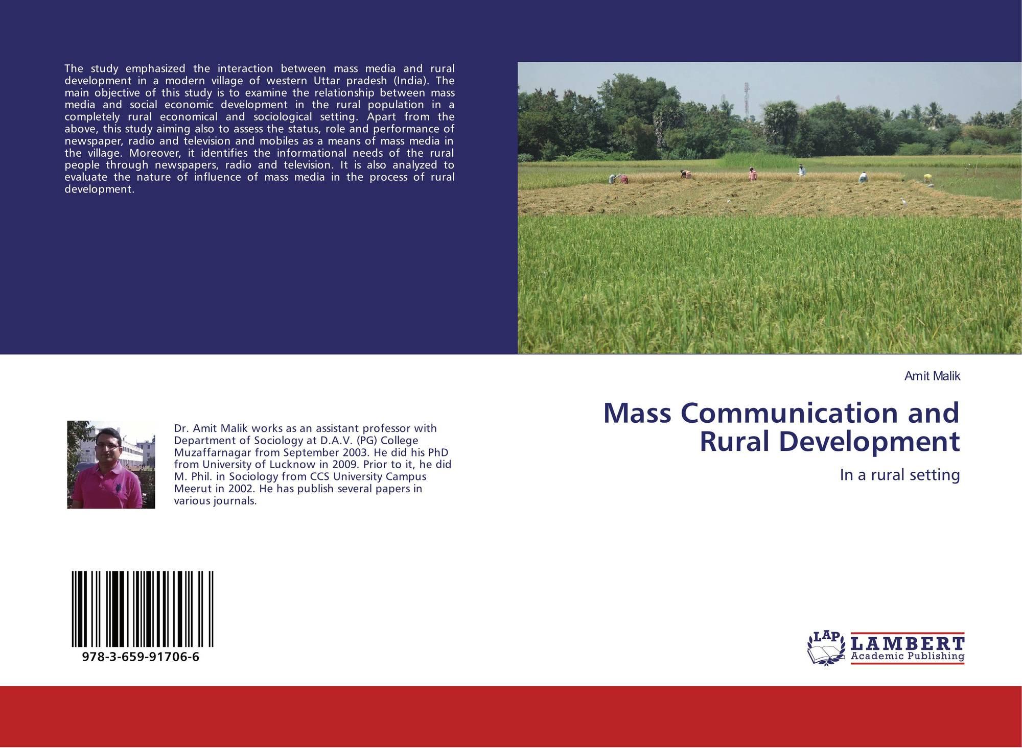 mass media and economic development