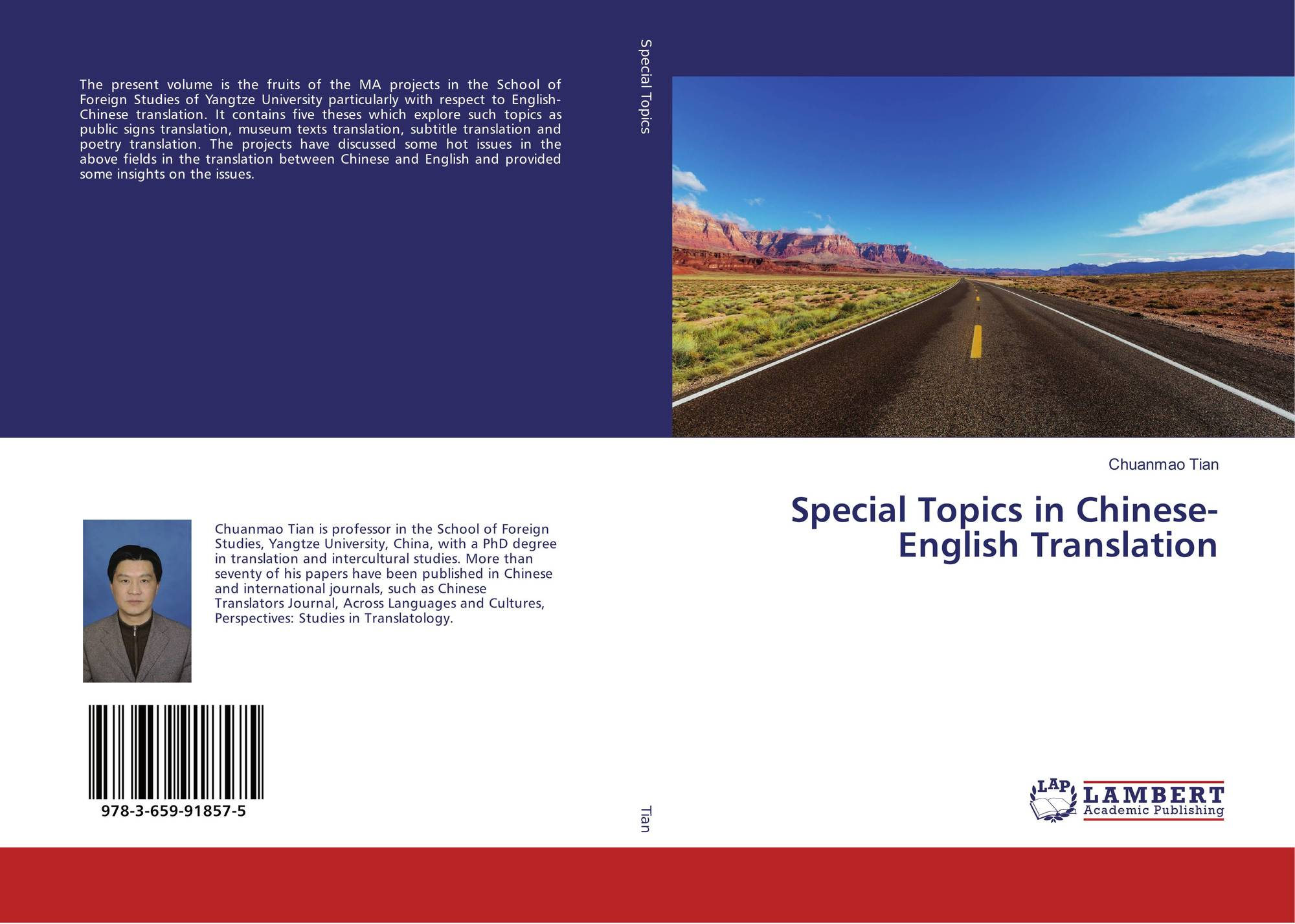 Special Topics in Chinese-English Translation, 978-3-659