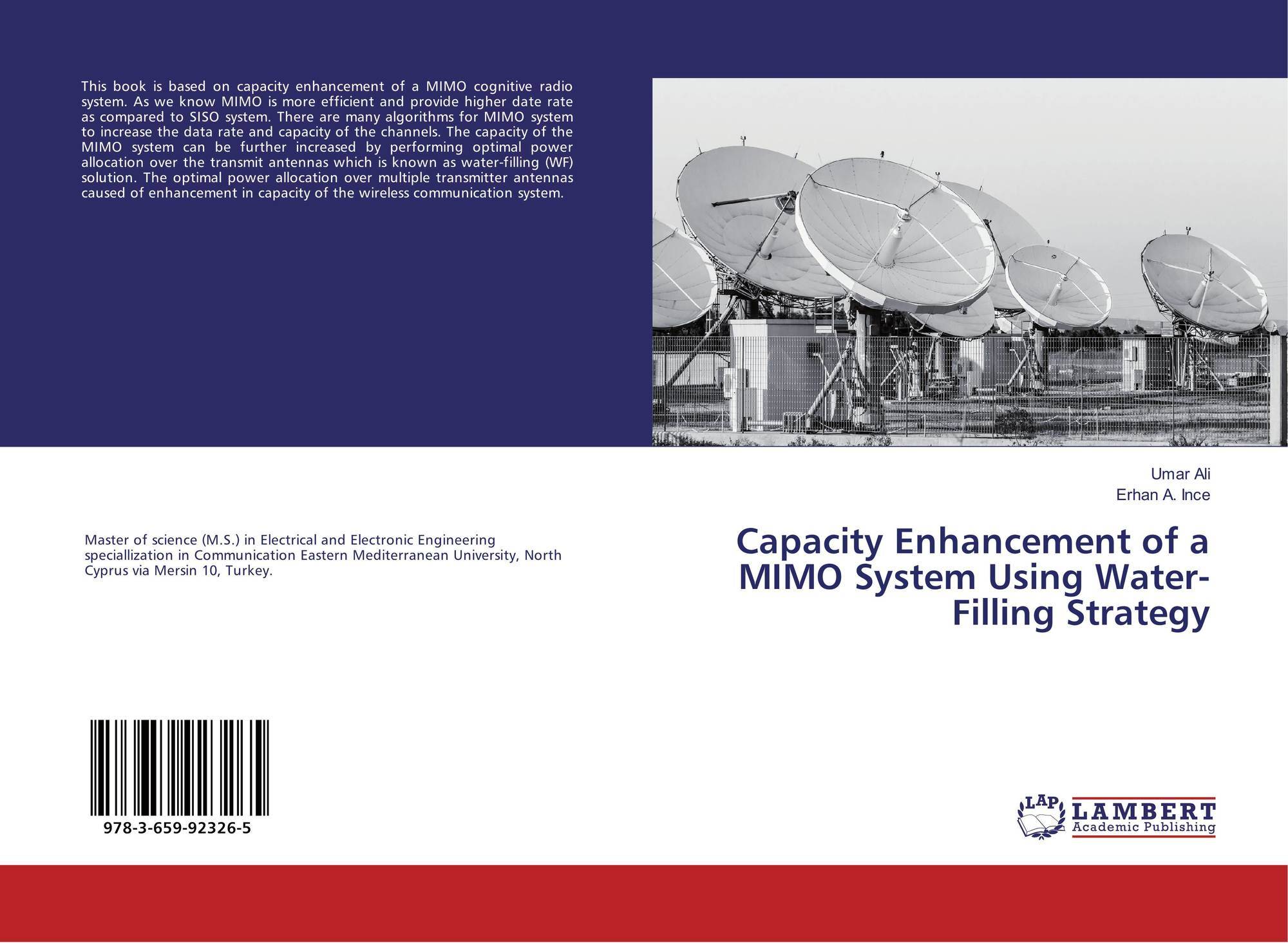 Search Results For Mimo Wiring Diagram Bookcover Of Capacity Enhancement A System Using Water Filling Strategy