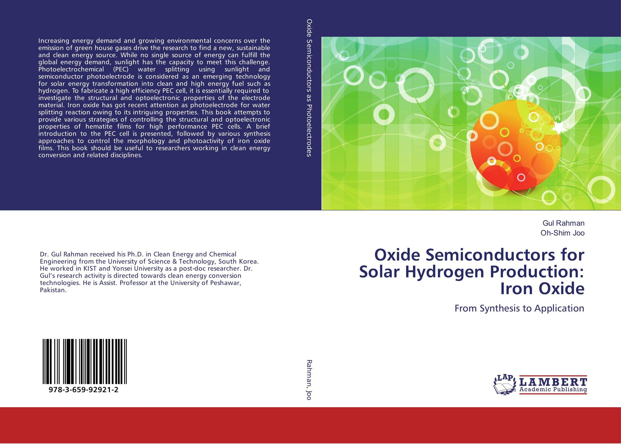 Search results for hydrogen dopped indium oxide bookcover of oxide semiconductors for solar hydrogen production iron oxide biocorpaavc Images