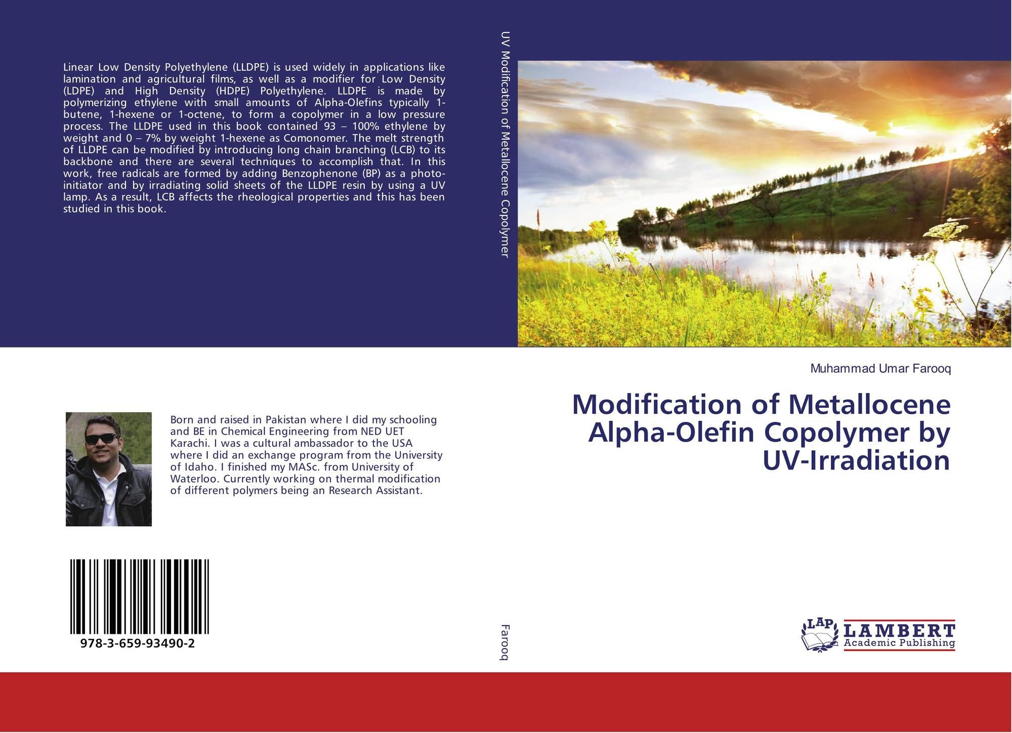 Modification of Metallocene Alpha-Olefin Copolymer by UV-Irradiation