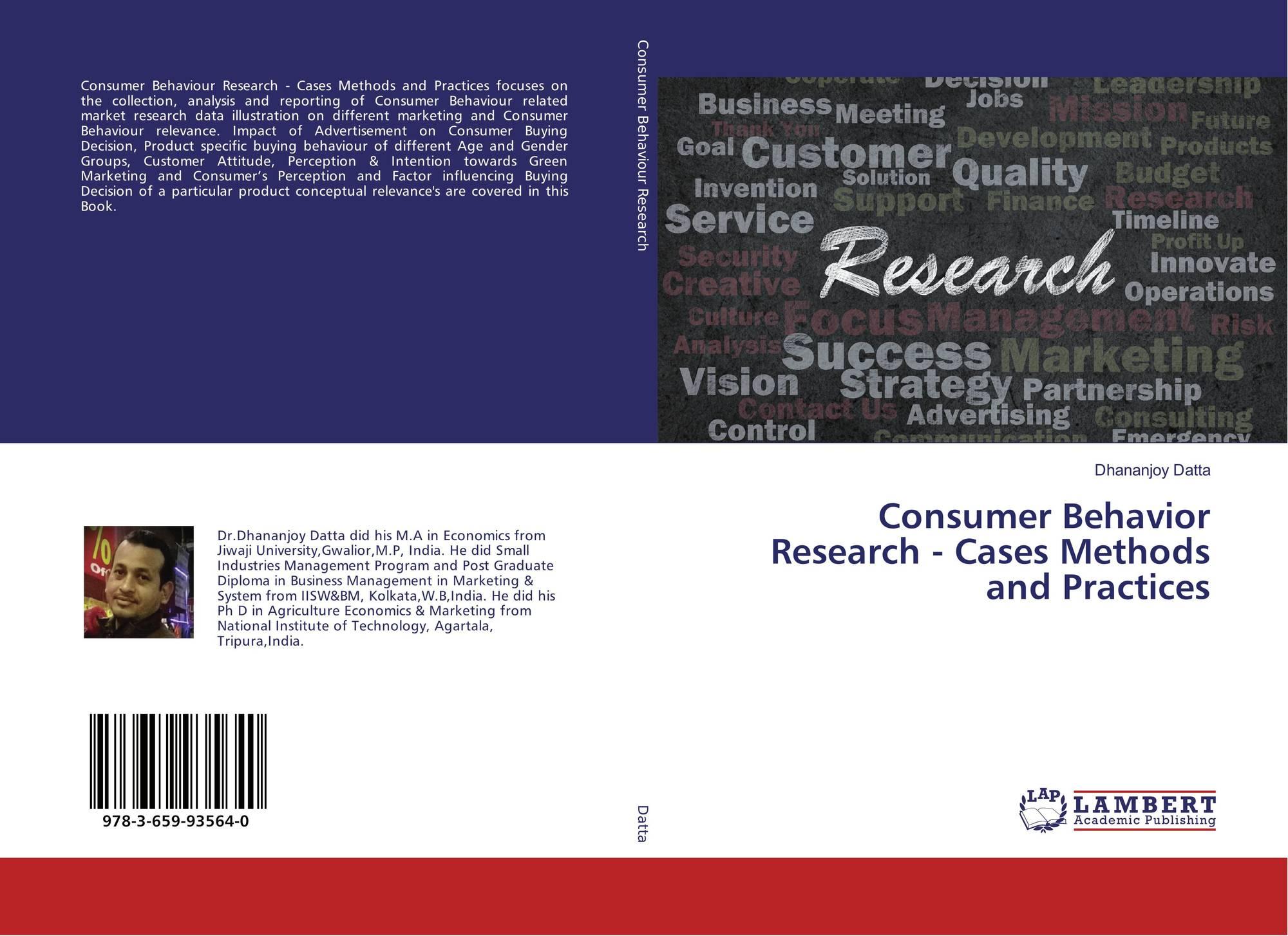 a report of consumer behavior