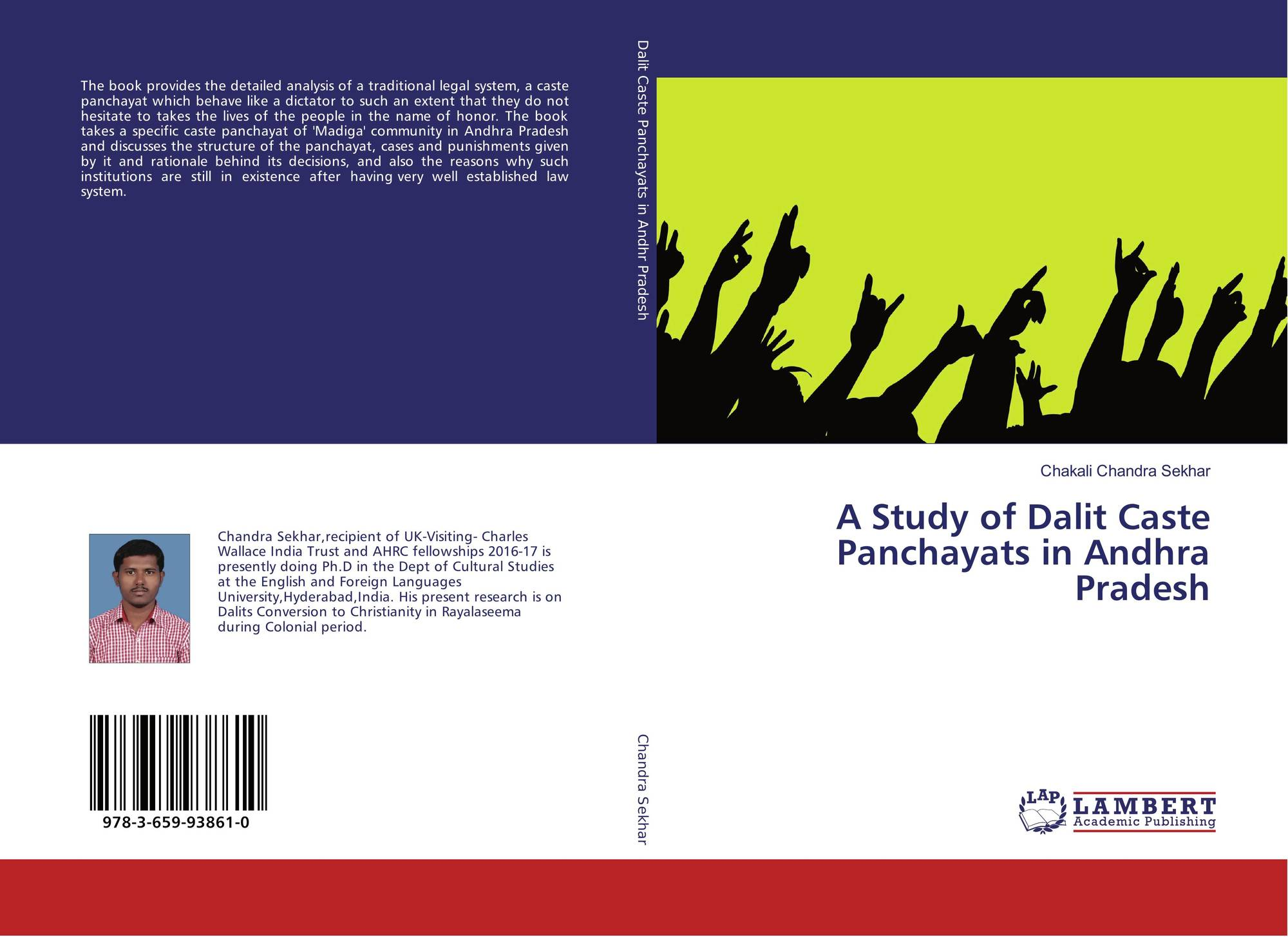 A Study of Dalit Caste Panchayats in Andhra Pradesh, 978-3-659-93861
