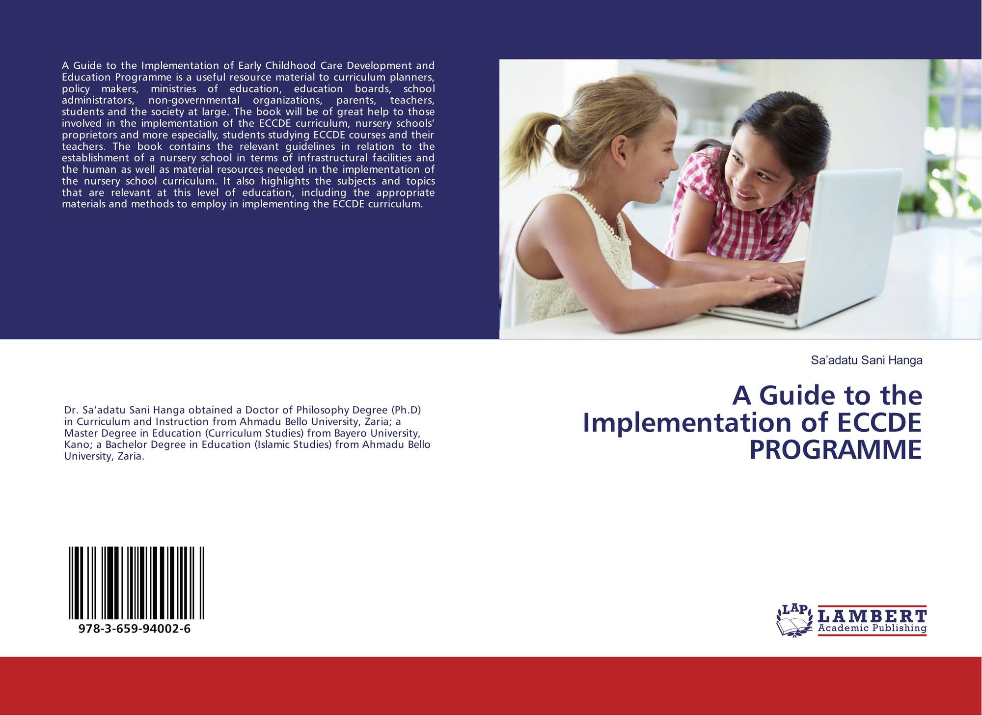 Category/education - Bookcover Of A Guide To The Implementation Of Eccde Programme