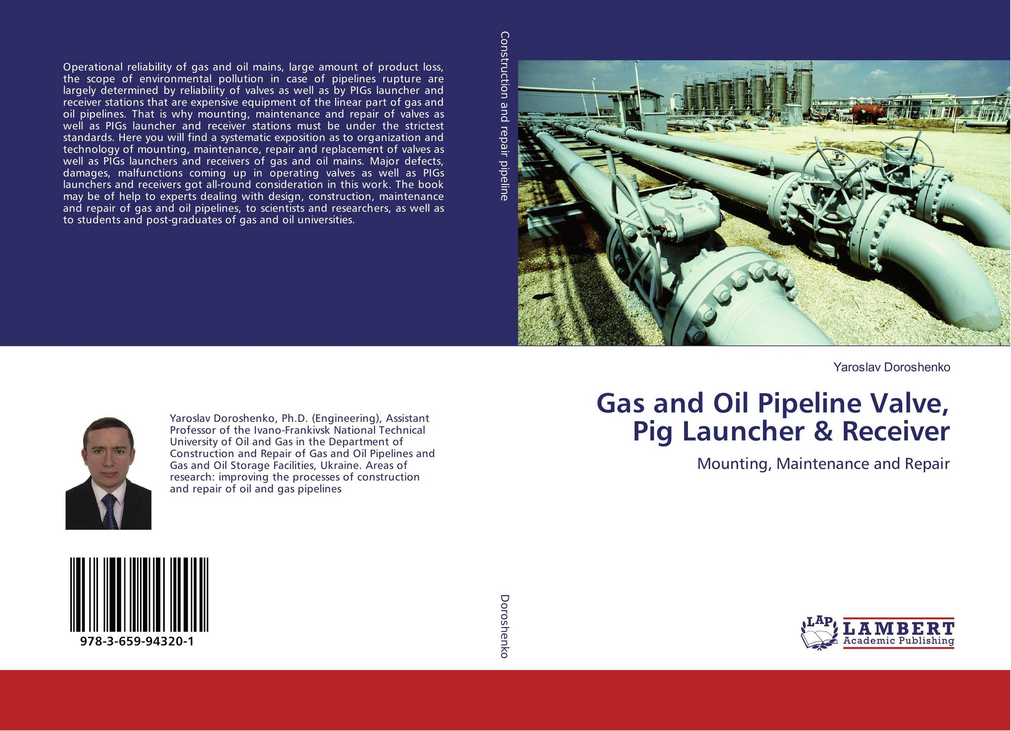 Gas and oil pipeline valve pig launcher receiver