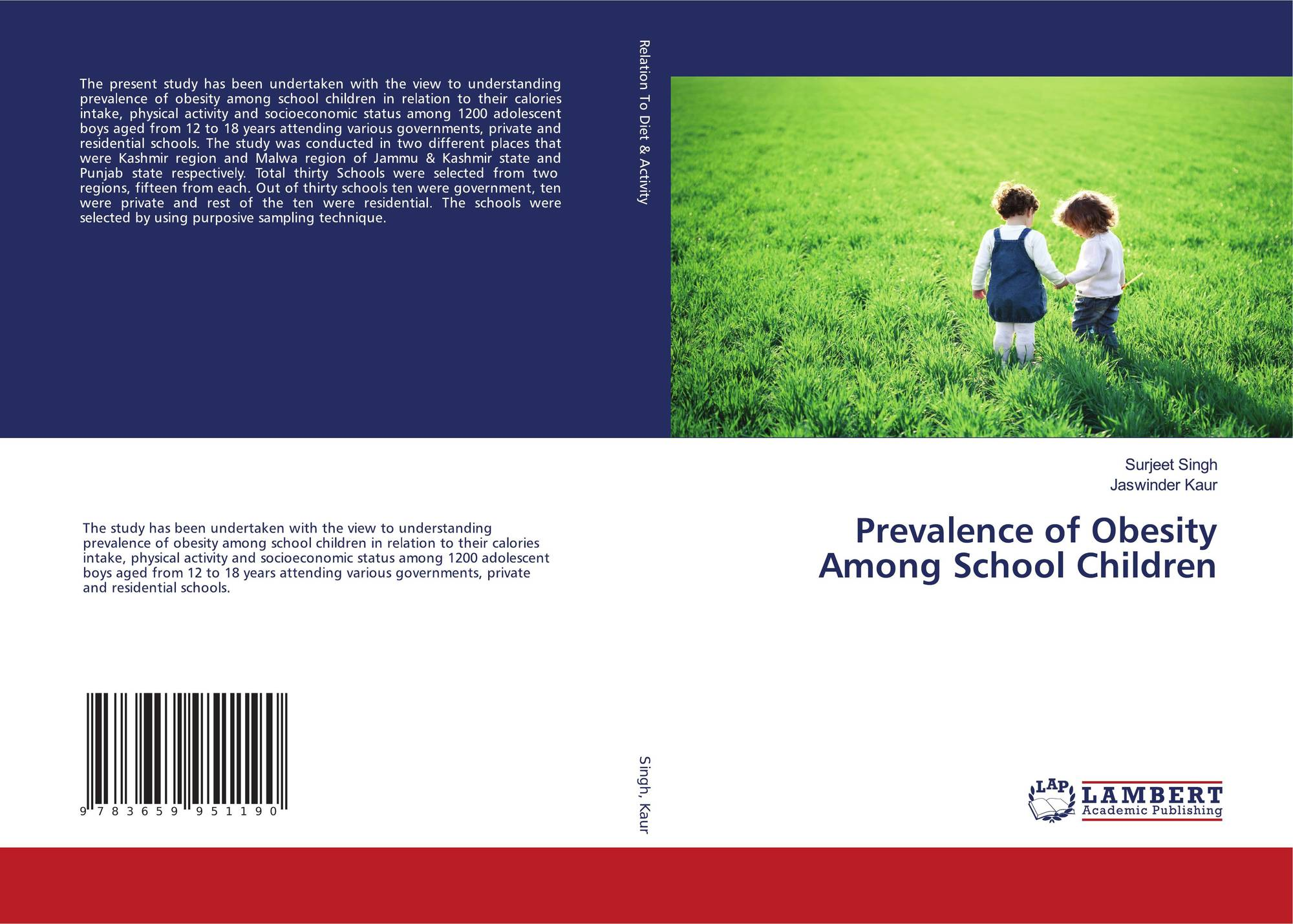a study of the prevalence of obesity among children