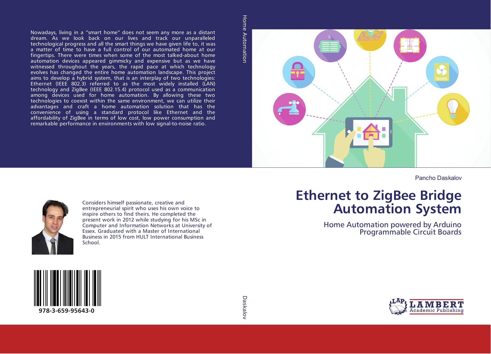 Ethernet to zigbee bridge automation system