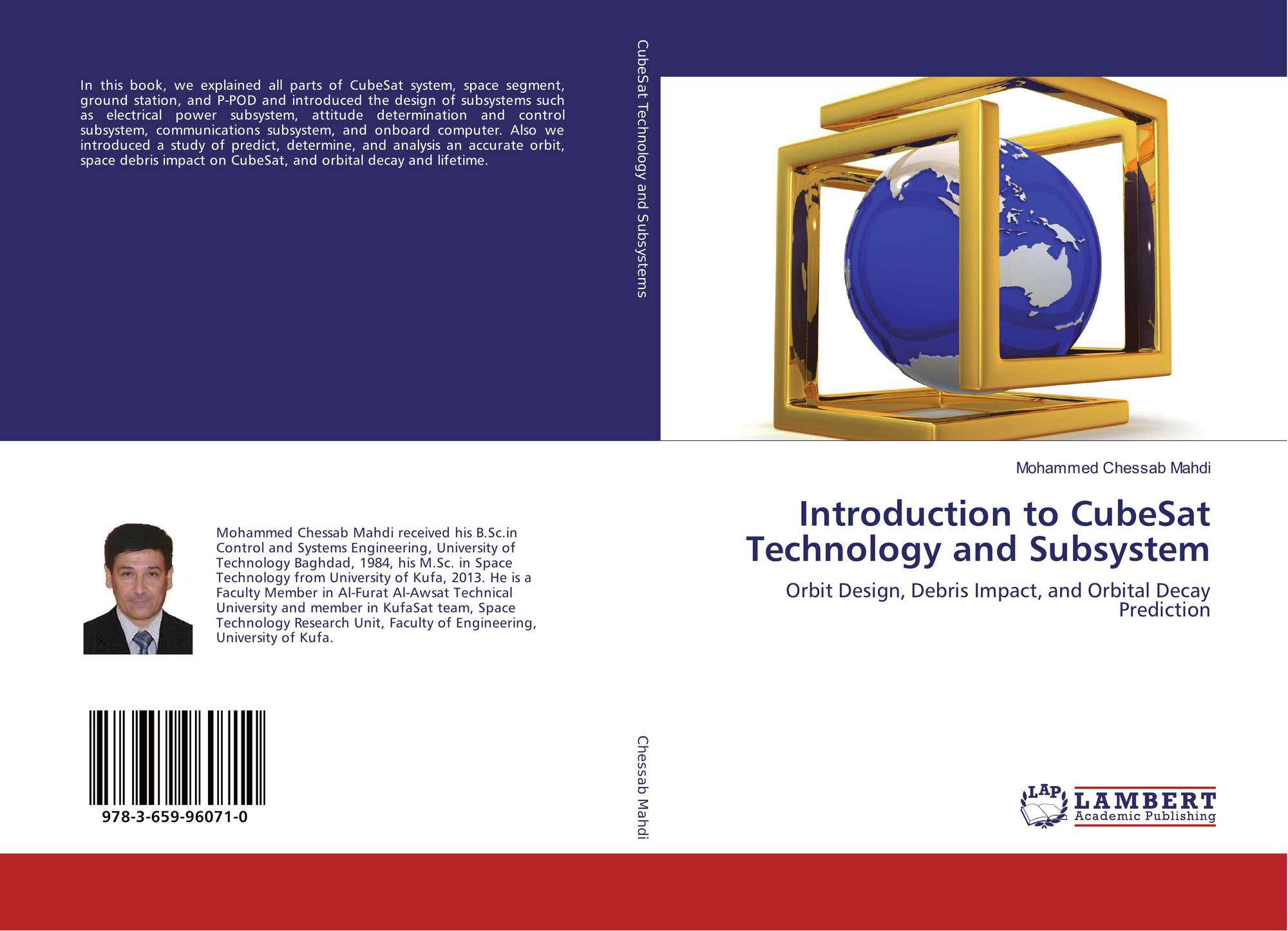 Introduction to CubeSat Technology and Subsystem, 978-3-659