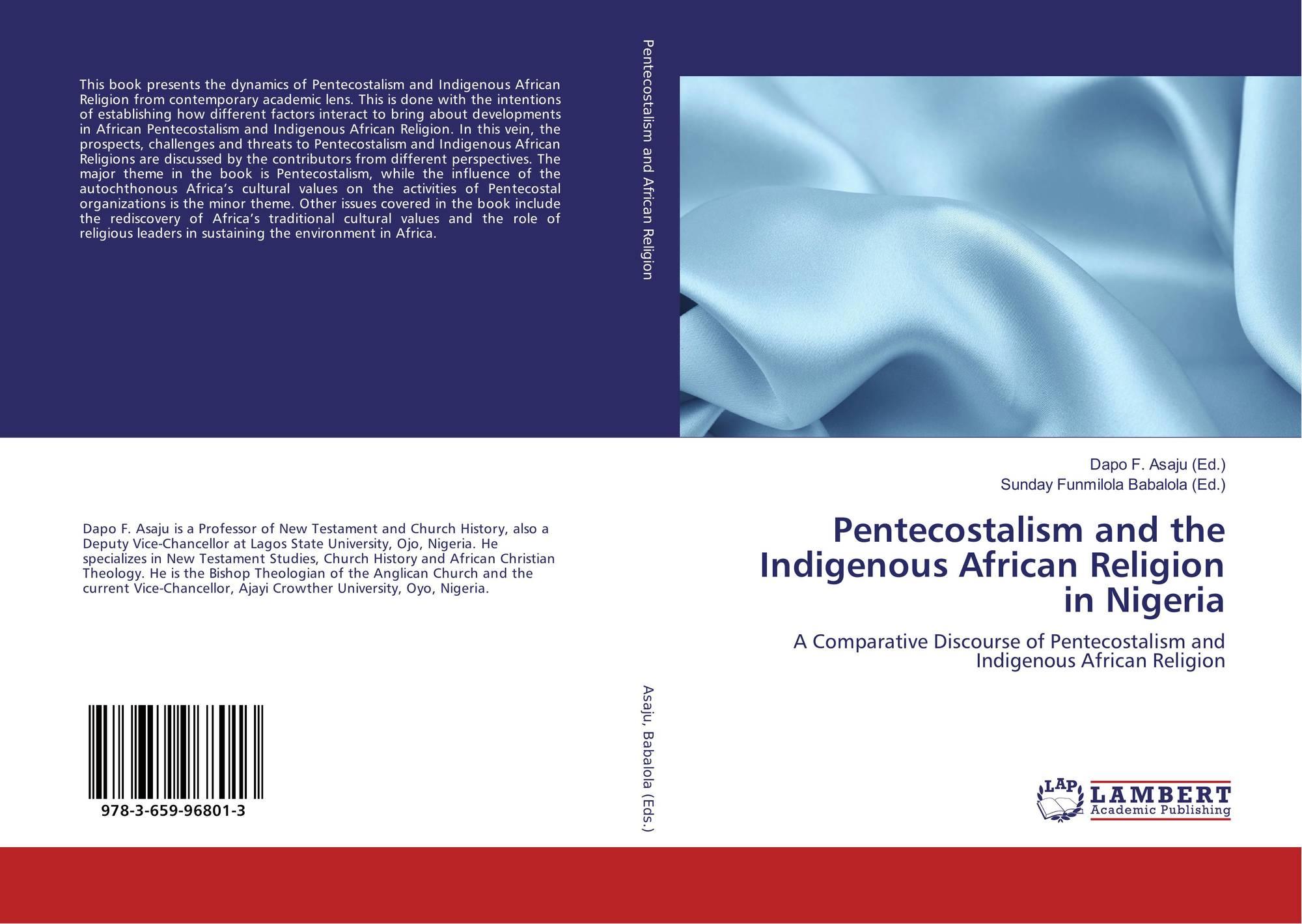 Portada del libro de Pentecostalism and the Indigenous African Religion in  Nigeria