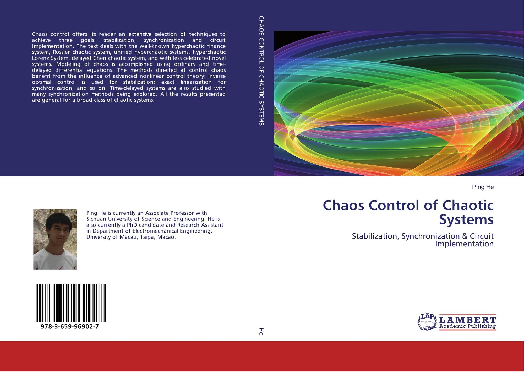 thesis chaos control The master thesis is focused on synchronization and chaos control we introduce history and ba-sic issue of this new science.