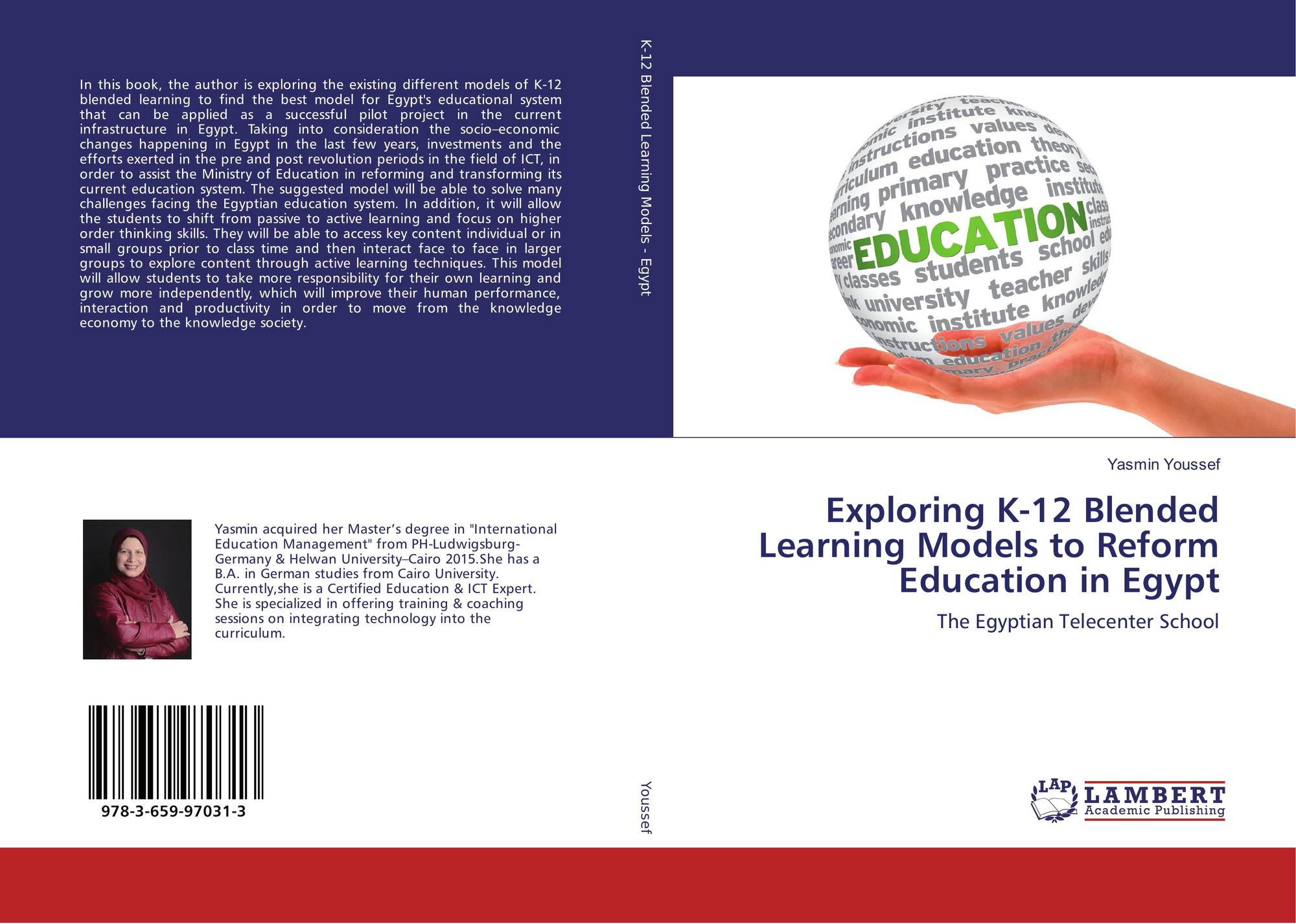 Category/education - Bookcover Of Exploring K 12 Blended Learning Models To Reform Education In Egypt