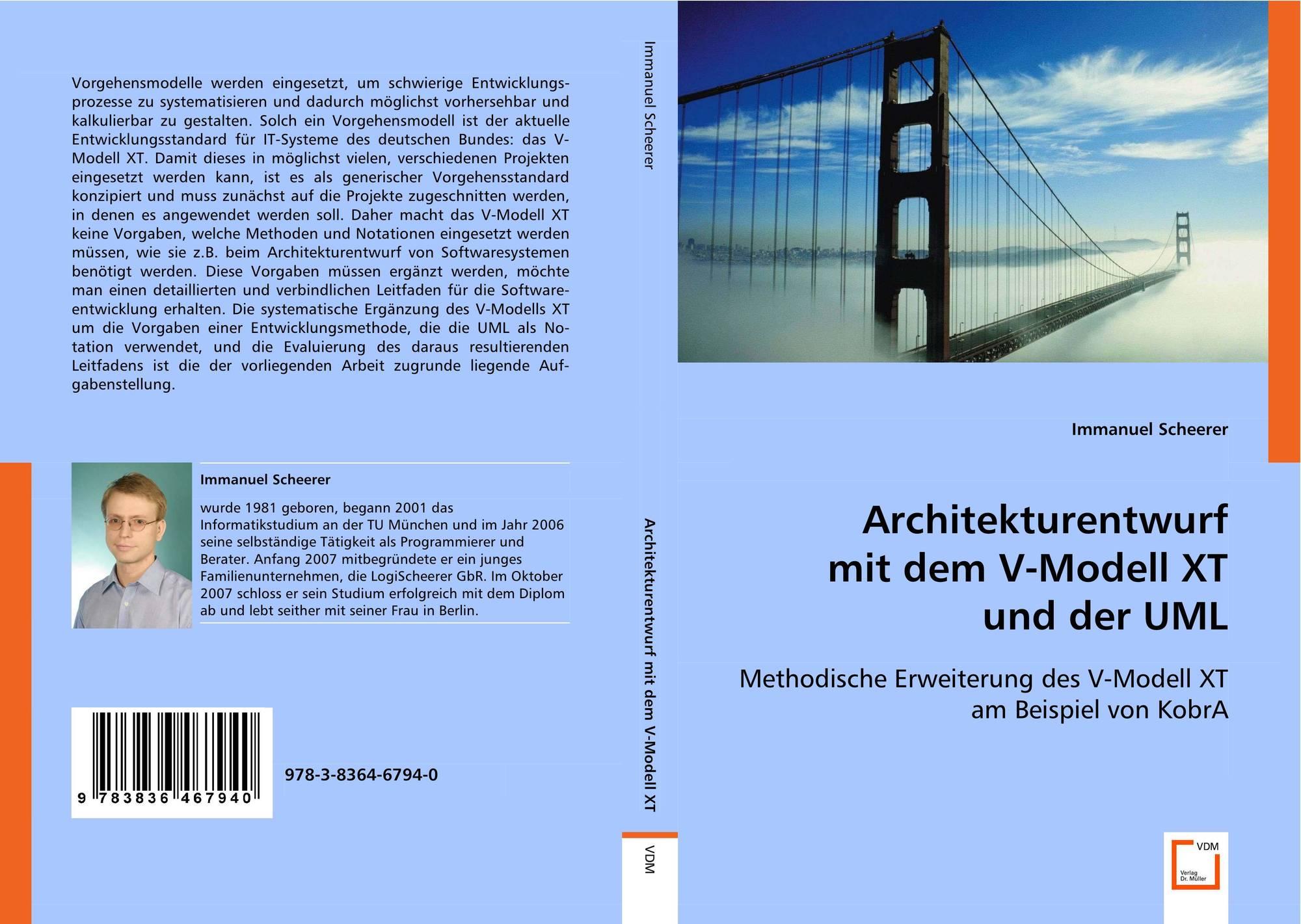 Architekturentwurfmit dem V-Modell XTund der UML, 978-3-8364