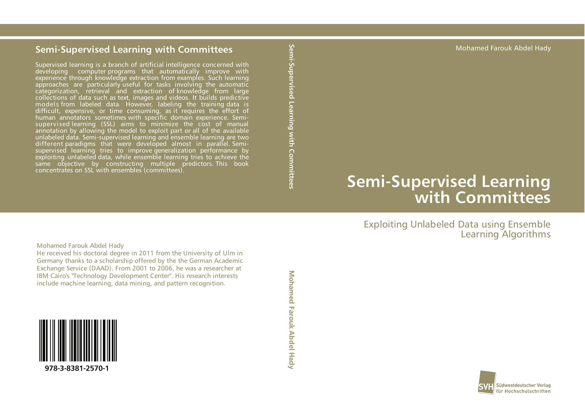 Semi-Supervised Learning with Committees, 978-3-8381-2570-1