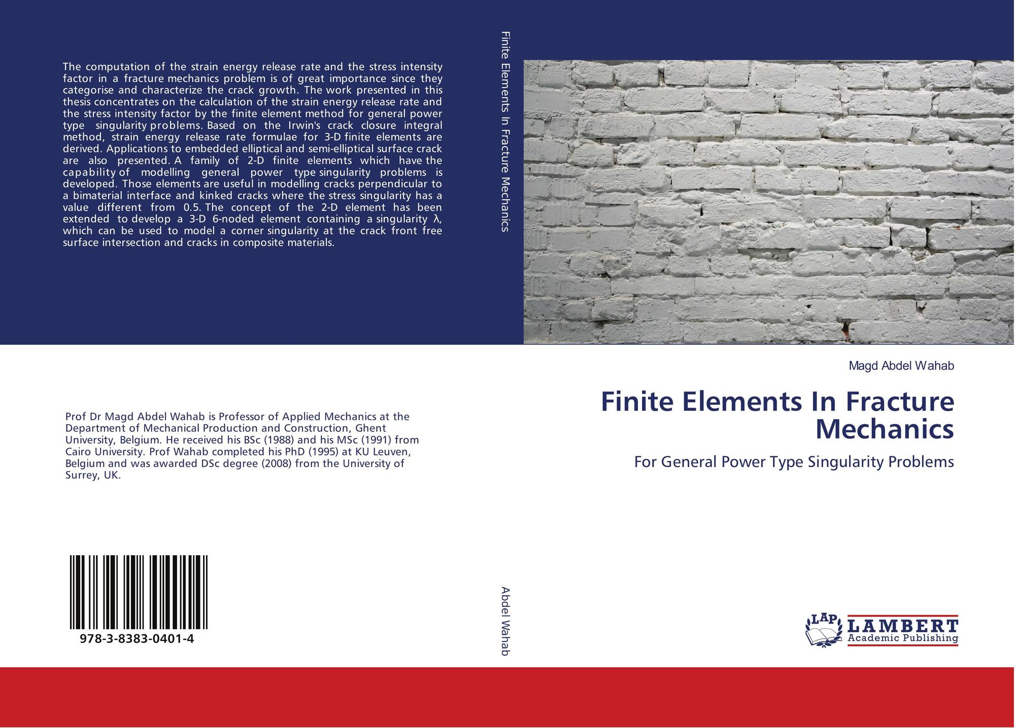 fracture mechanics thesis Master thesis  numerical analysis of crack propagation  and lifetime estimation  fracture mechanics and numerical programming  bm4-2  bo ernst westergren jensen.