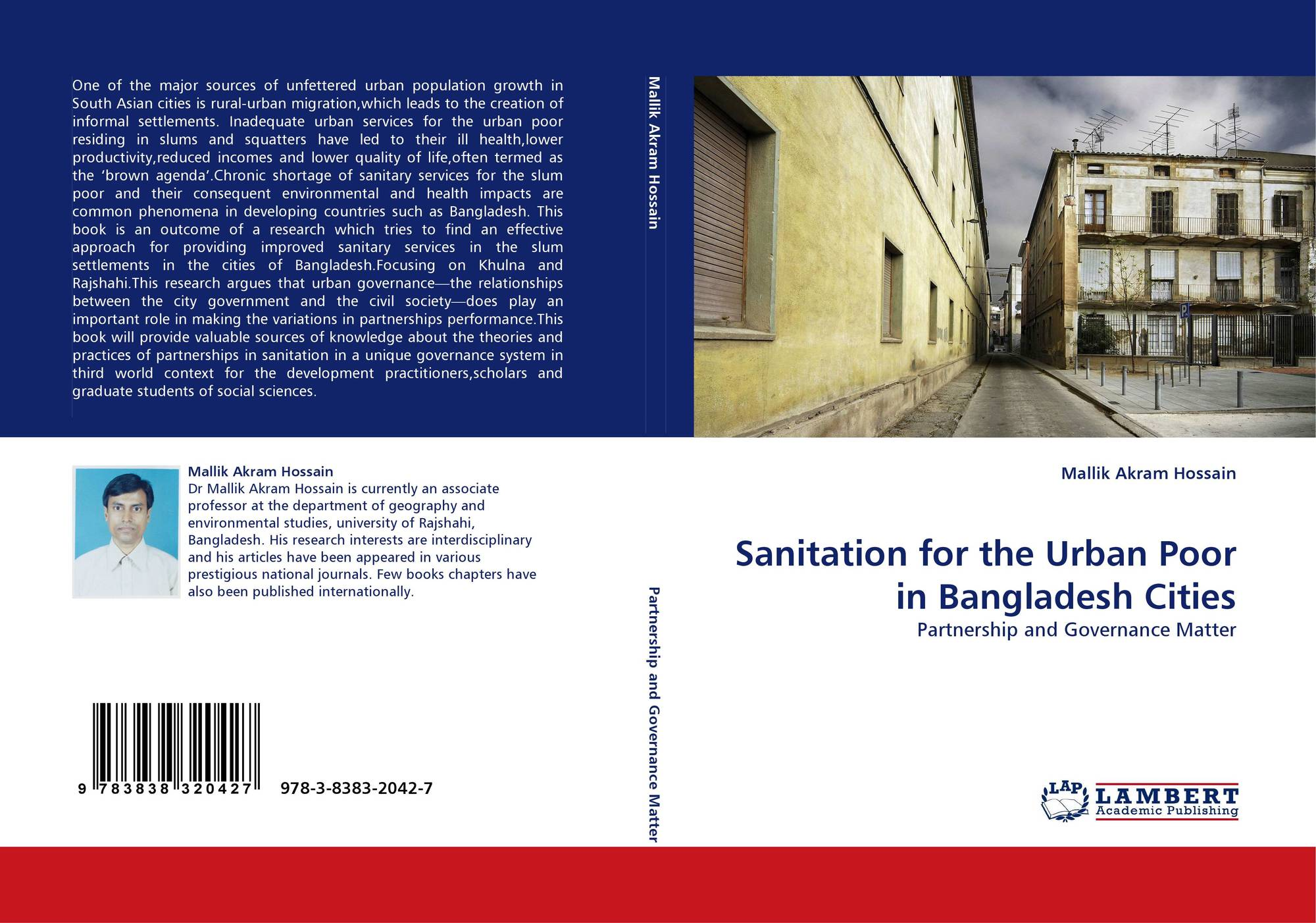Sanitation for the Urban Poor in Bangladesh Cities, 978-3