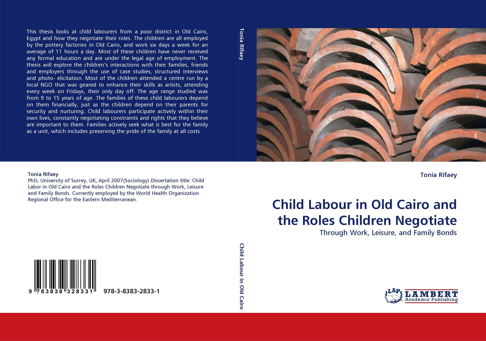 phd thesis on child labour Help, what is a good thesis statement for child labor hi, i'm stumped with coming up with a thesis statement for child labor i'm writing a research paper on the negativity of child.