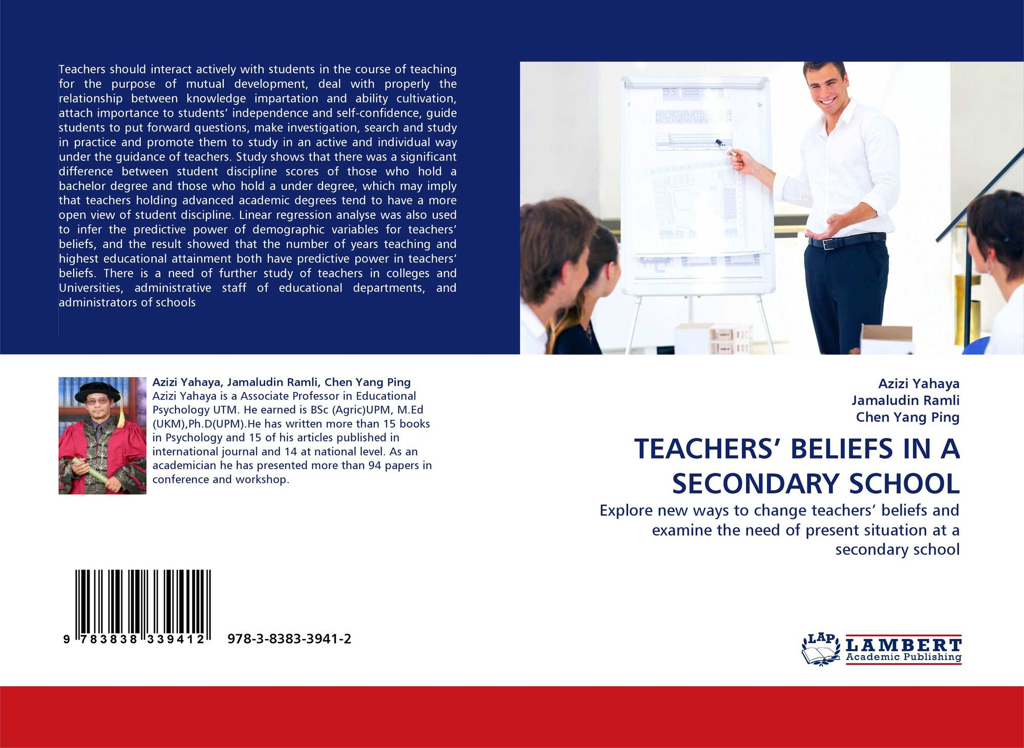 teaching beliefs Teacher attitudes: the effects of teacher beliefs on teaching practices and achievement of students with disabilities by mary klehm a dissertation submitted in partial fulfillment of the.