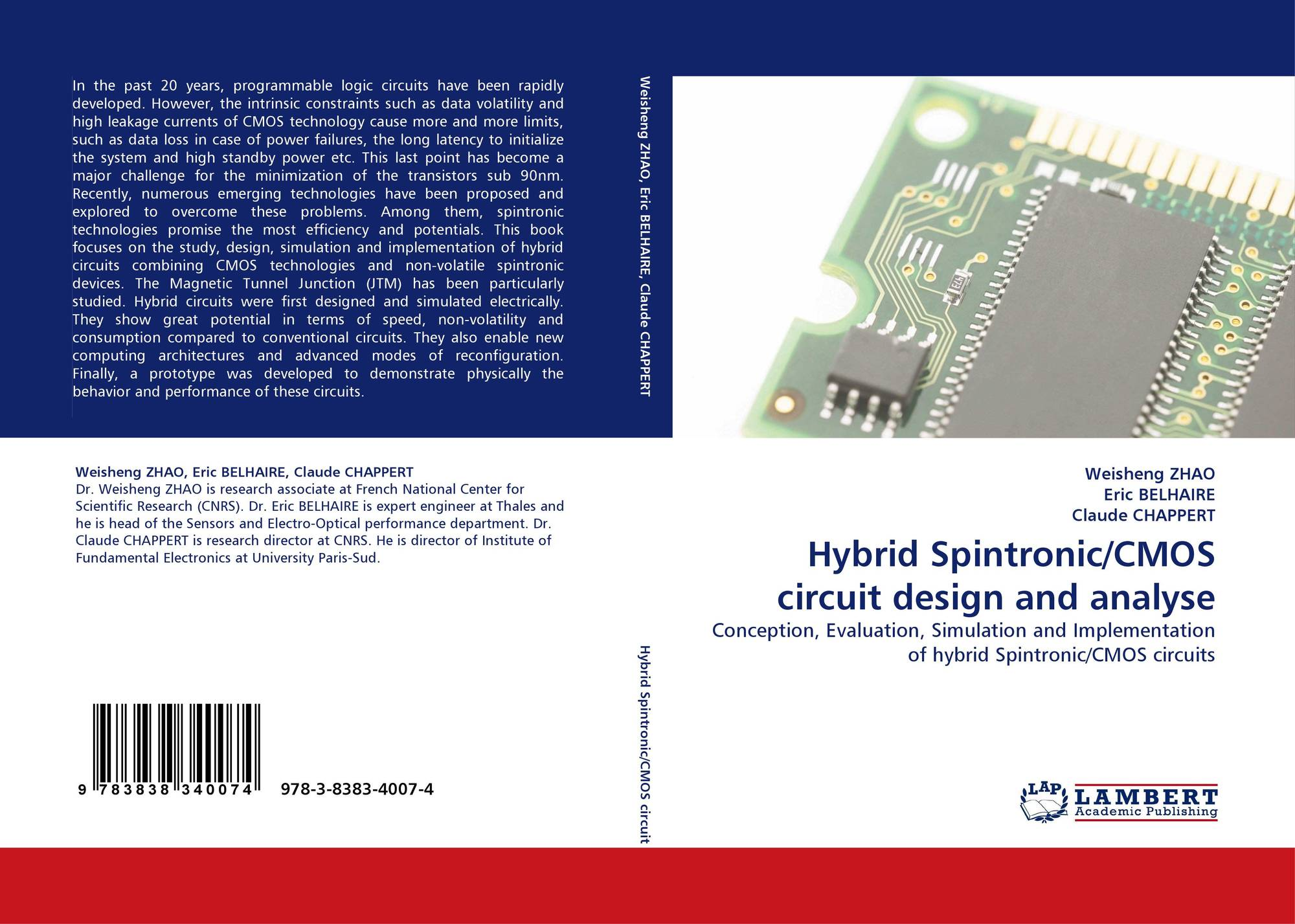 Hybrid Spintronic Cmos Circuit Design And Analyse 978 3 8383 4007 4 Electronic Job Description 9783838340074