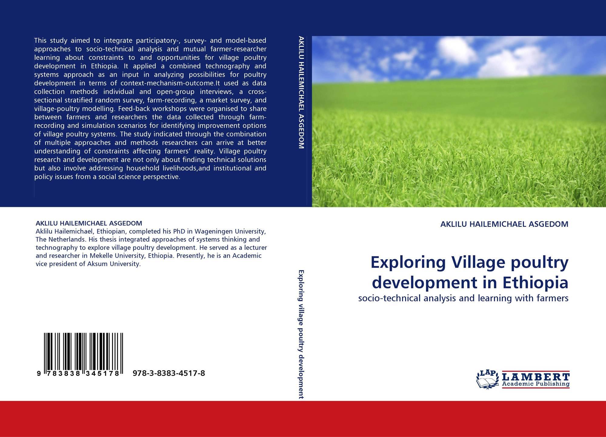 Exploring Village poultry development in Ethiopia, 978-3-8383-4517-8