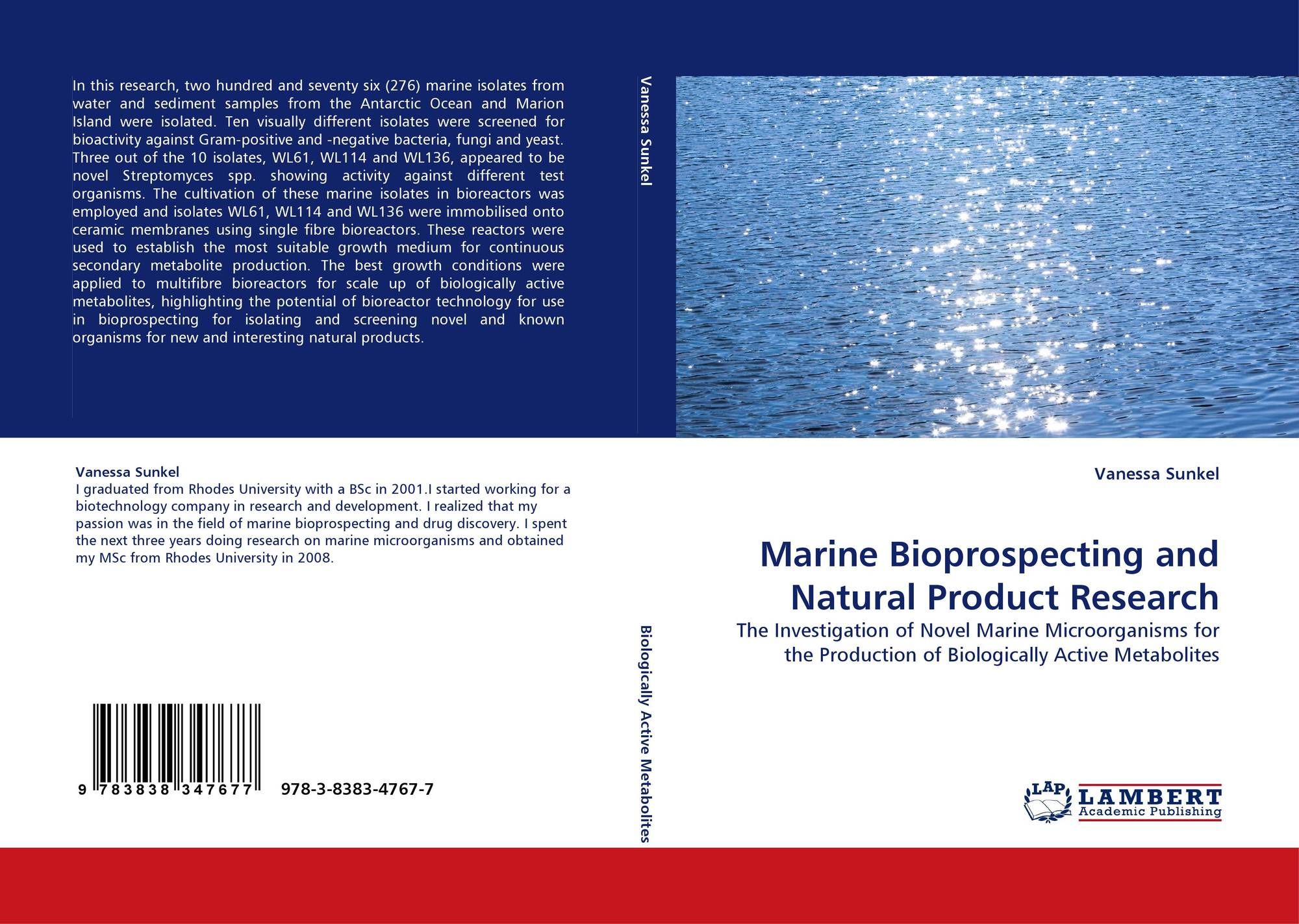 marine organisms and other novel natural