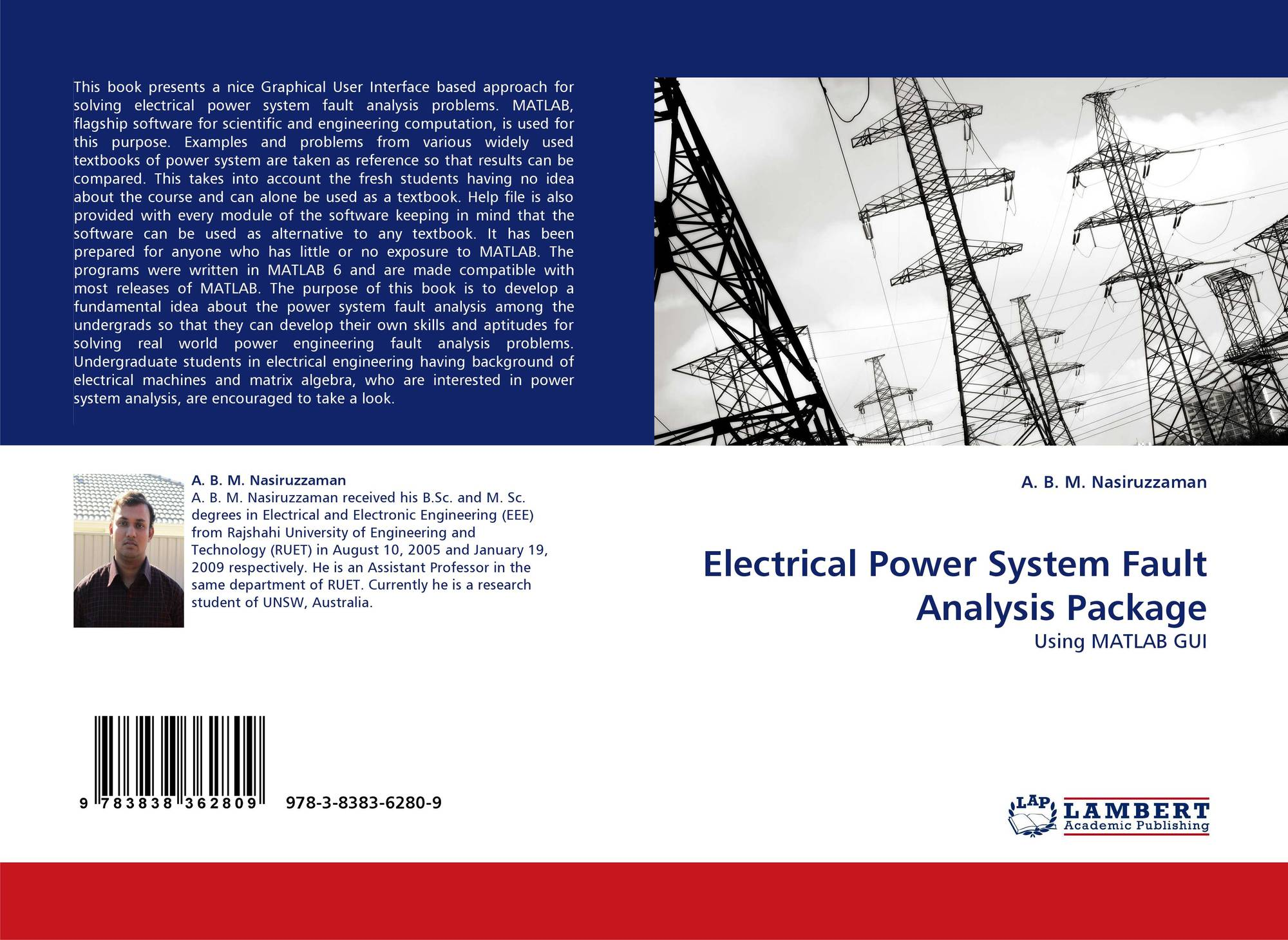 Electrical Power System Fault Analysis Package, 978-3-8383-6280-9