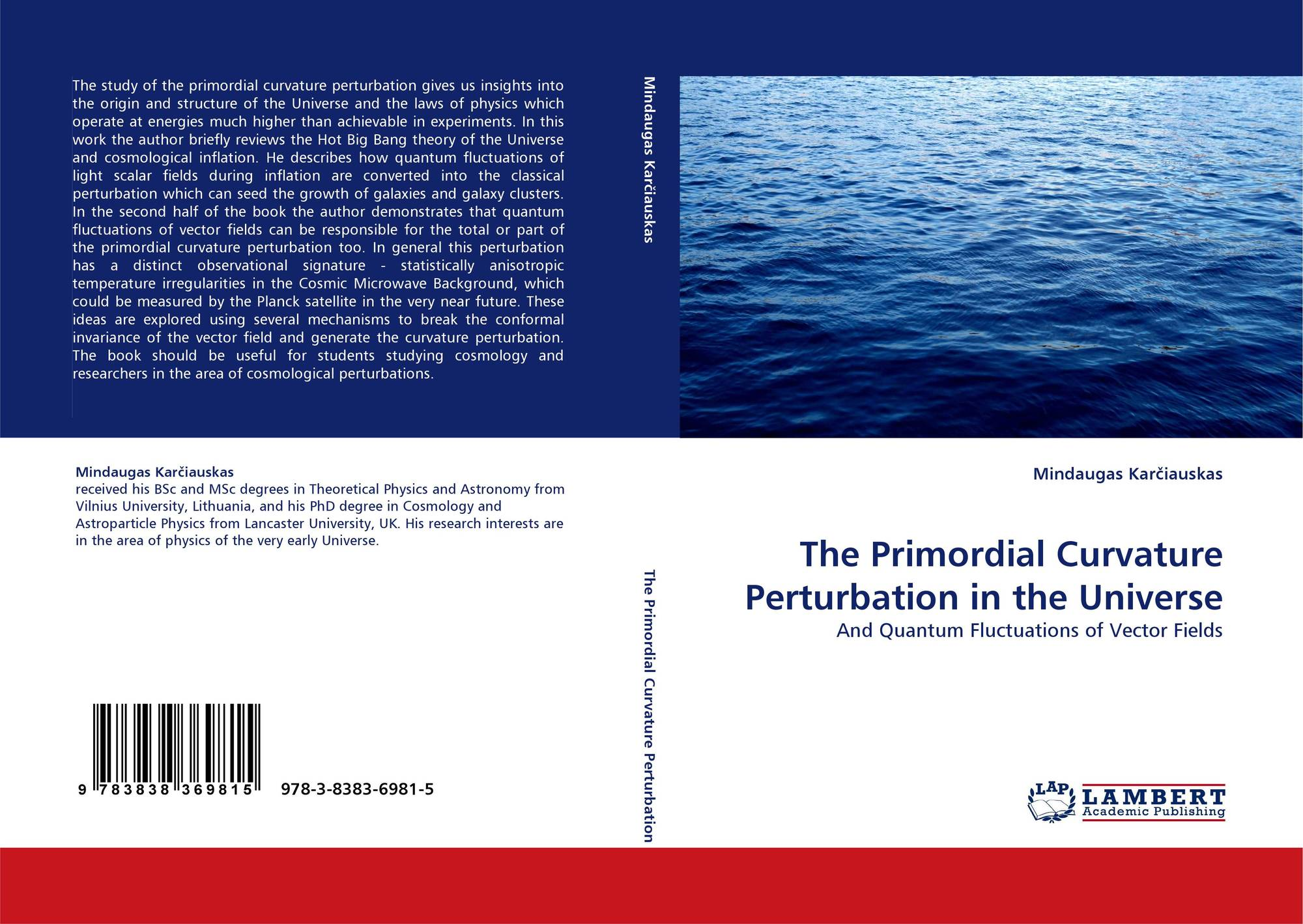 The Primordial Curvature Perturbation in the Universe, 978-3