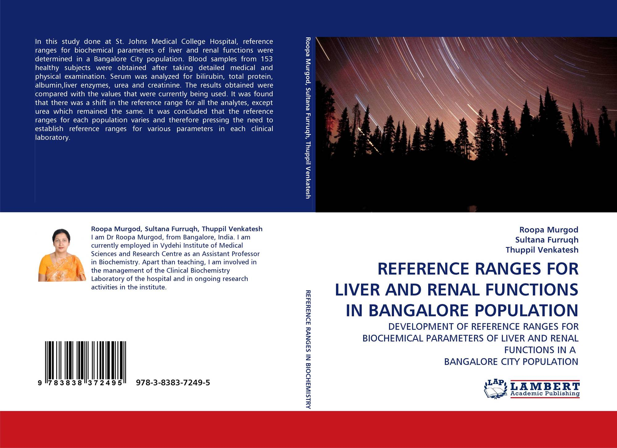 Reference Ranges For Liver And Renal Functions In Bangalore