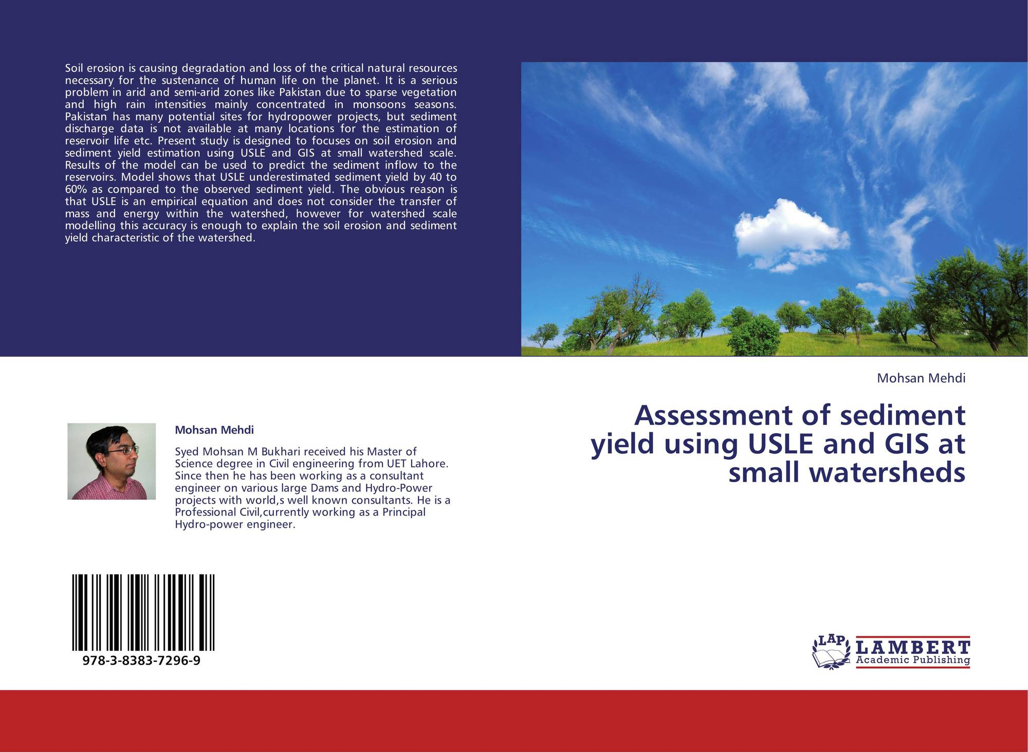 soil loss estimation thesis Estimation of soil erosion by using usle er estimation of erosion is essential to issues of land and the general form of the universal soil loss equation.