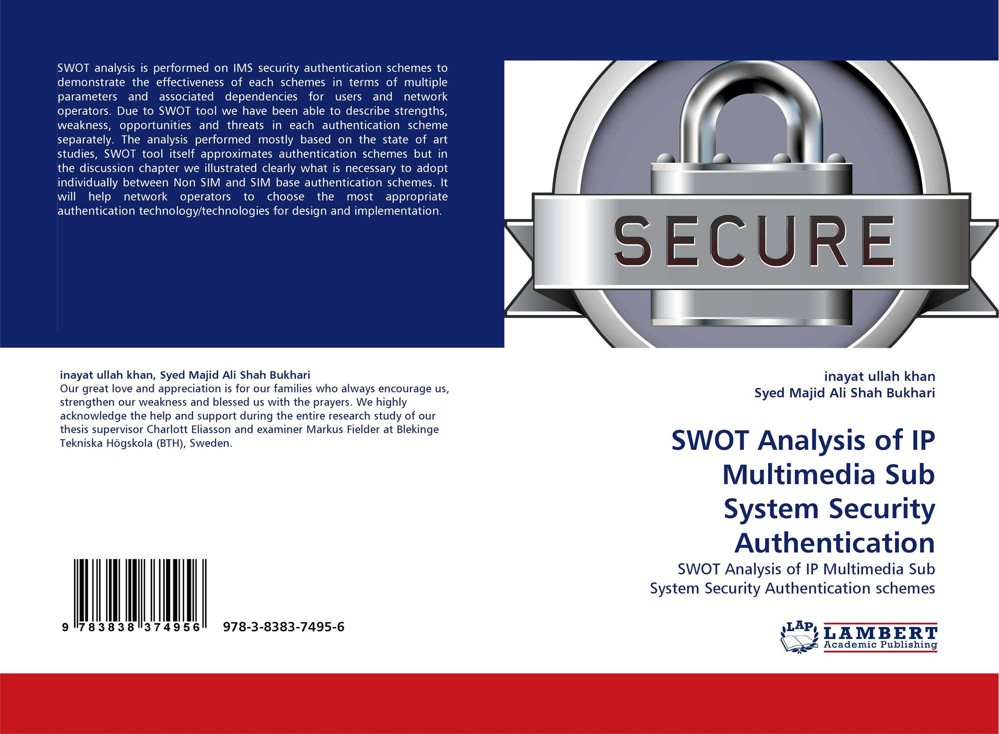 biometric authentication thesis