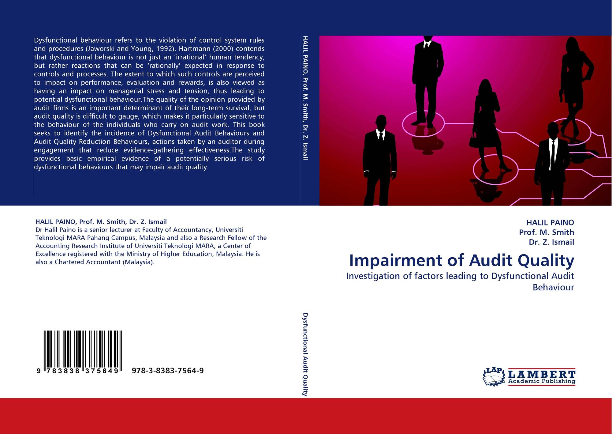 dysfunctional audit behavior I dysfunctional auditor behavior: the effects of tone at the top and supervisors' relationships wayne tervo department of accounting murray state university.