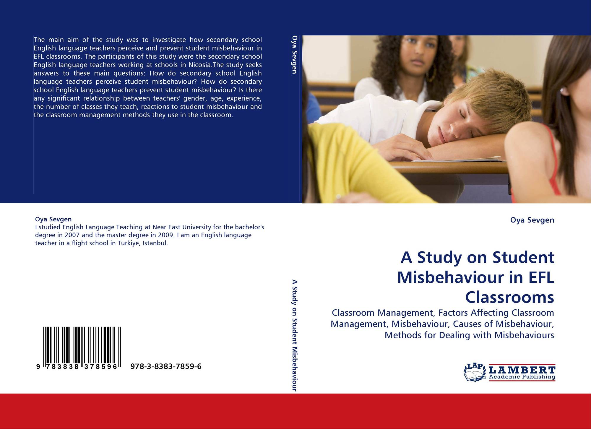 methods used by elementary teachers in managing misbehavior in the classroom essay The scientific world journal is a which required teachers to spend time in managing classroom discipline and thus program can lessen classroom misbehavior in.