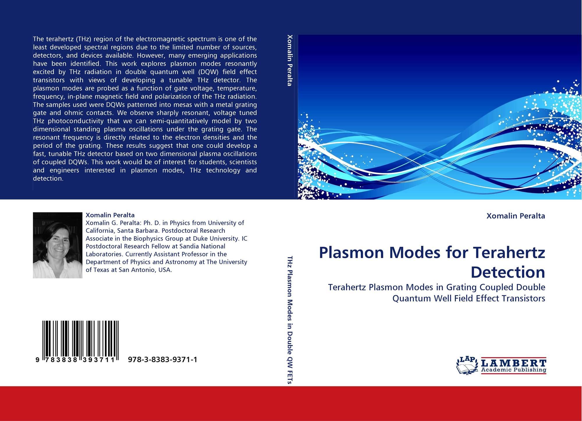 Plasmon Modes For Terahertz Detection 978 3 8383 9371 1 3838393716 Transistors 9783838393711