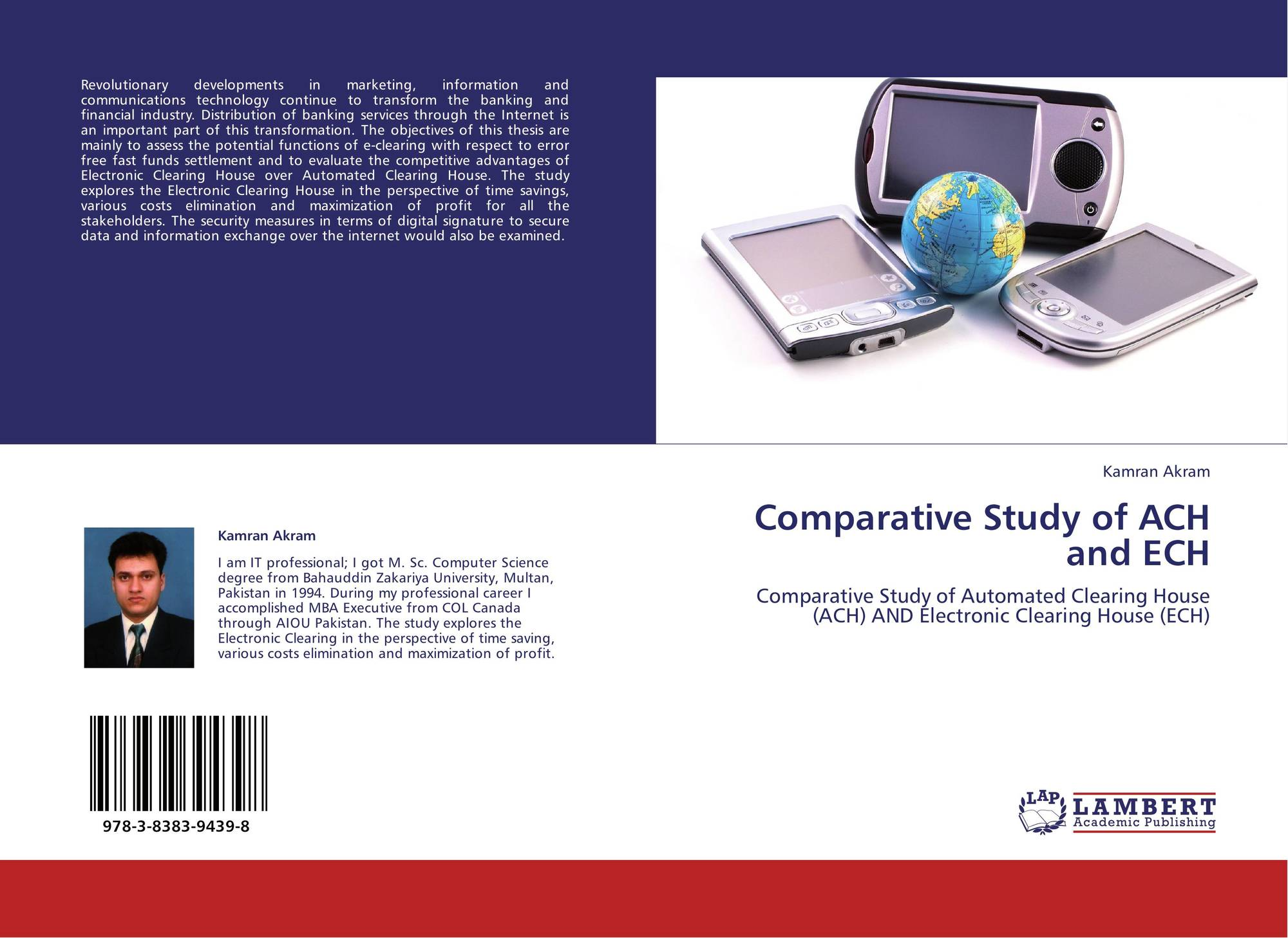 Comparative Study of ACH and ECH, 978-3-8383-9439-8, 3838394399