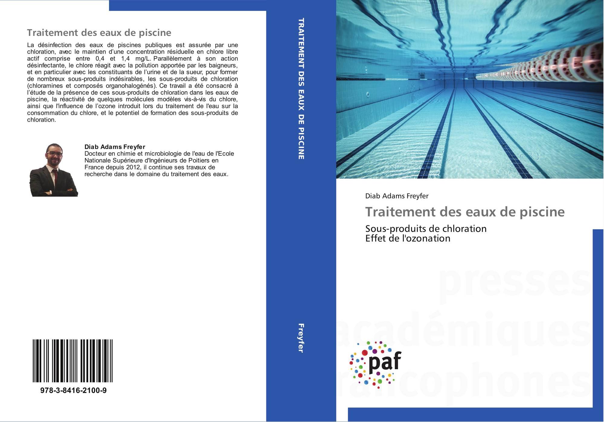 Traitement des eaux de piscine 978 3 8416 2100 9 for Traitement des piscines