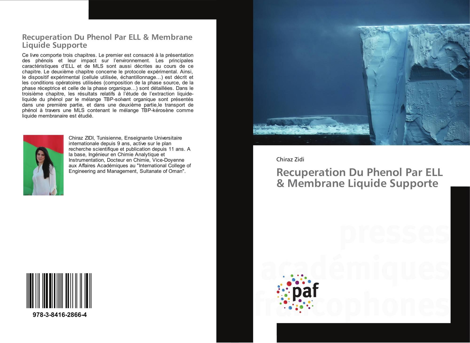 recuperation du phenol par ell membrane liquide supporte. Black Bedroom Furniture Sets. Home Design Ideas