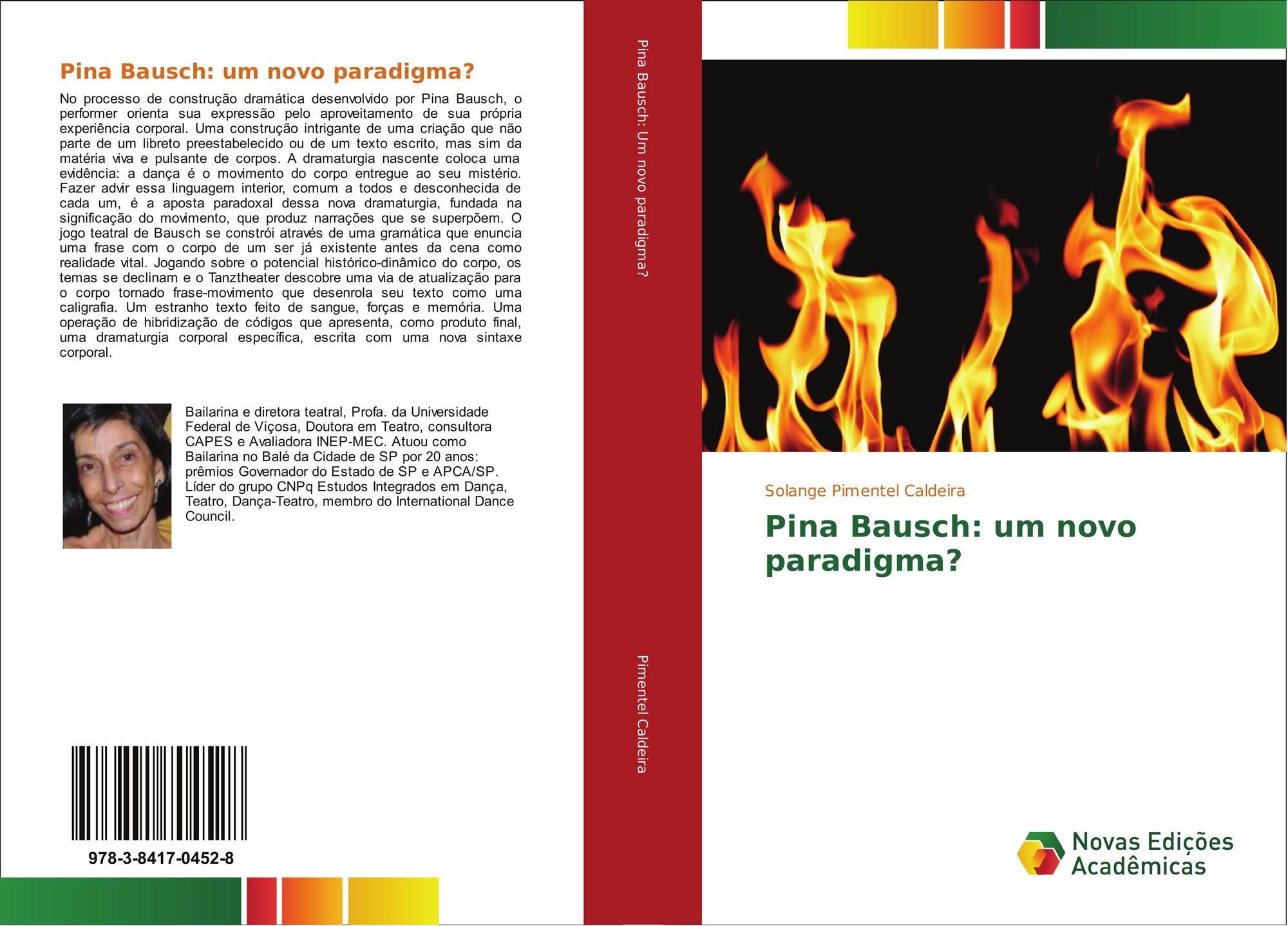 Pina Bausch Um Novo Paradigma 978 3 8417 0452 8