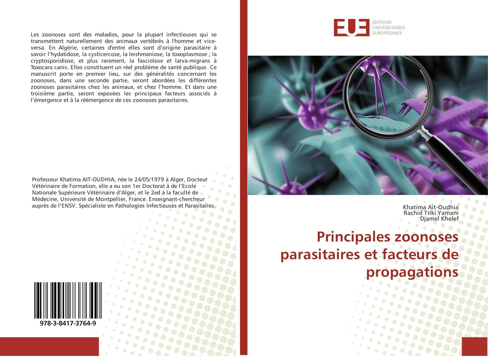 Les parasites dans la personne le diagnostic