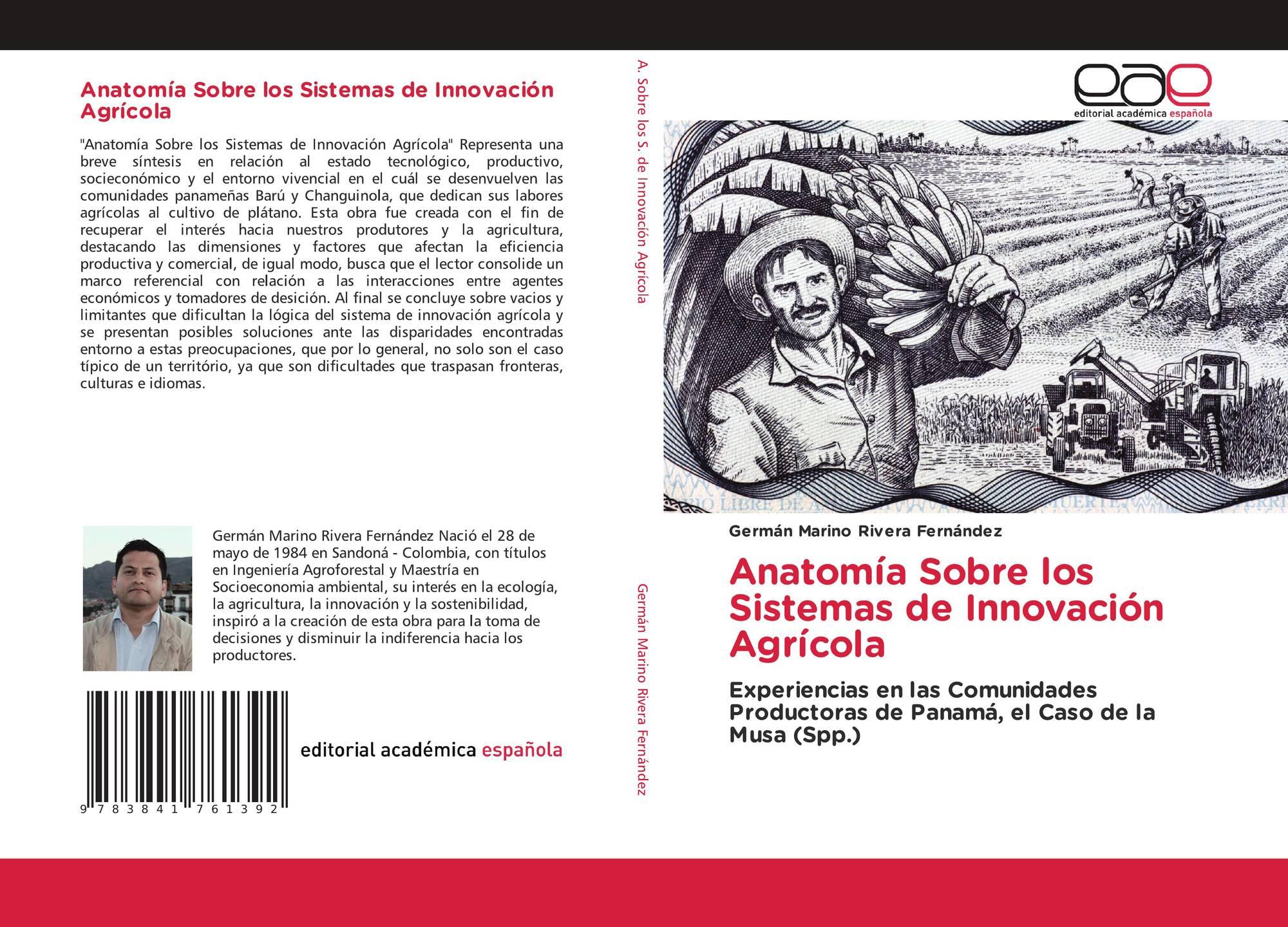 Anatomía Sobre los Sistemas de Innovación Agrícola, 978-3-8417-6139 ...