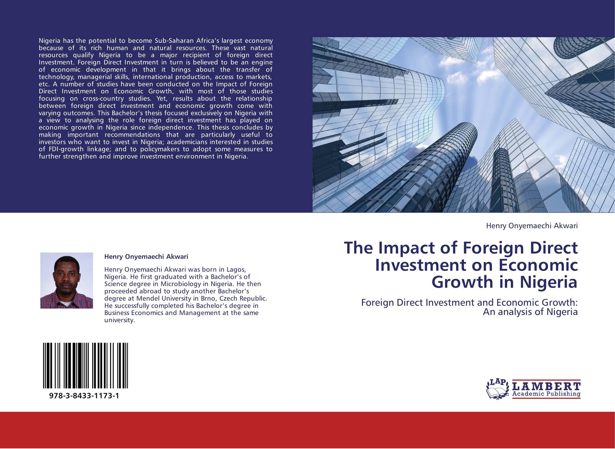 impact of fdi on nigeria economy Impact of foreign direct investment on economic growth in nigeria 1opusunju, michael isaac, 2udoh, francis sylvanus & 3jiya, ndalo santeli 1department of business administration, university of abuja.