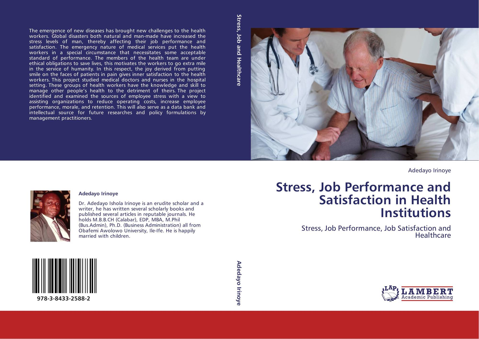 search results for job stress bookcover of stress job performance and satisfaction in health institutions